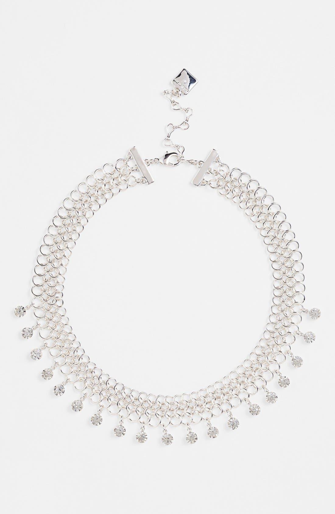 Main Image - Anne Klein Mesh Collar Necklace