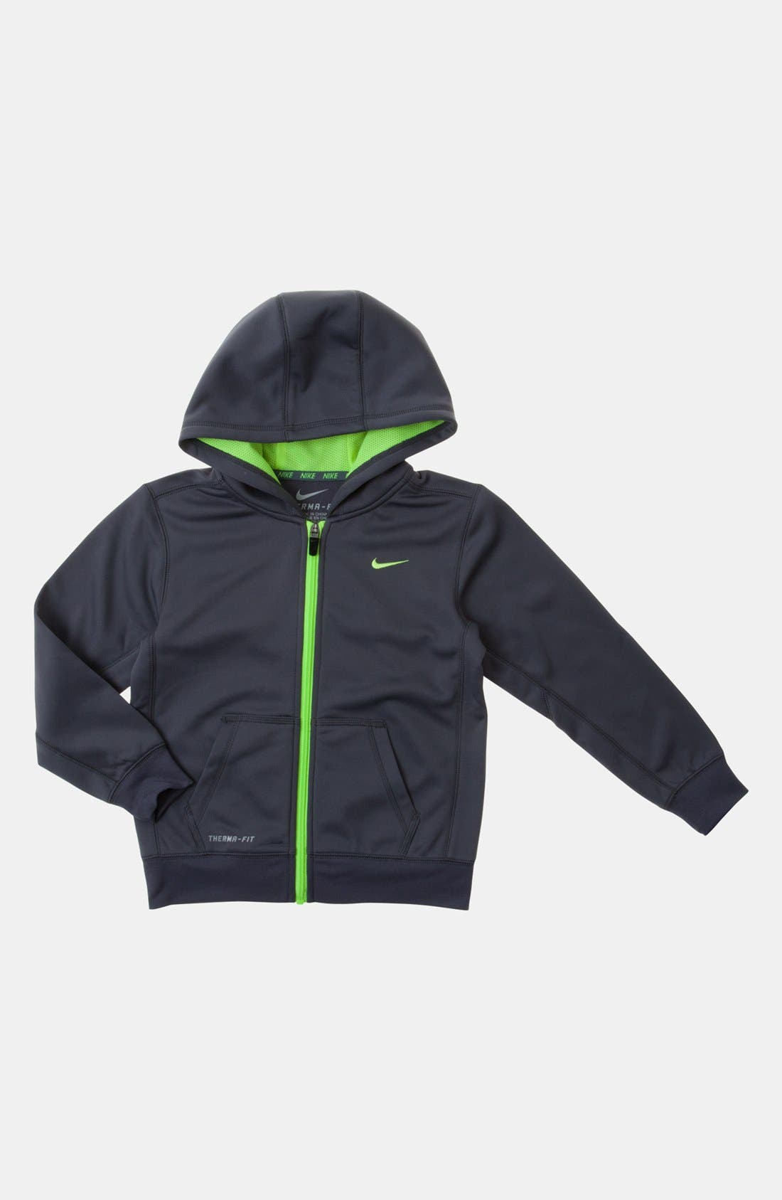 Alternate Image 1 Selected - Nike 'KO 2.0' Hoodie (Little Boys)