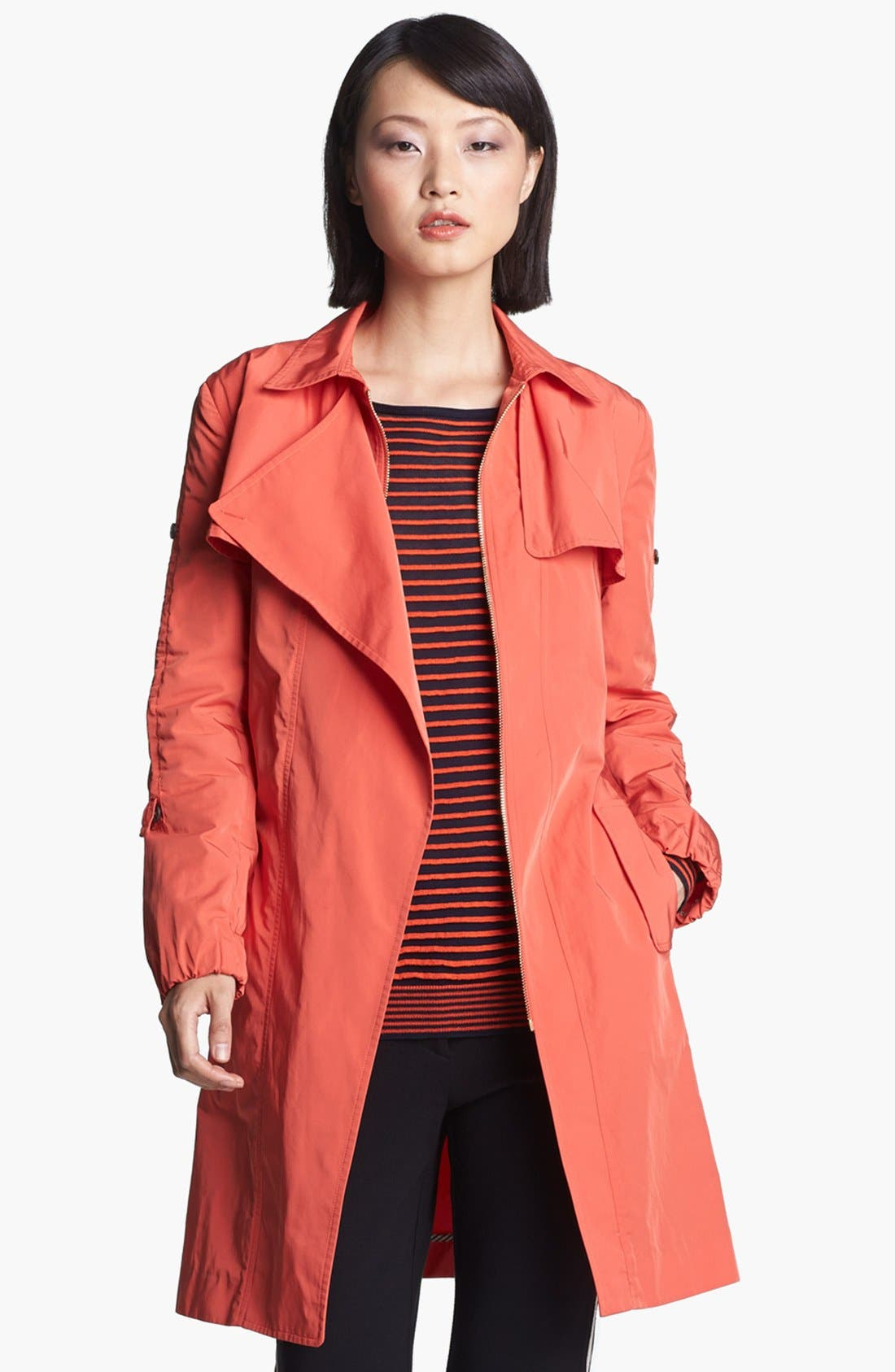 Alternate Image 1 Selected - Halston Heritage Long Trench Coat
