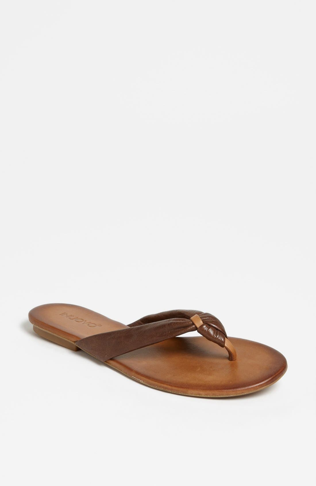 Alternate Image 1 Selected - INUOVO THONG SANDAL