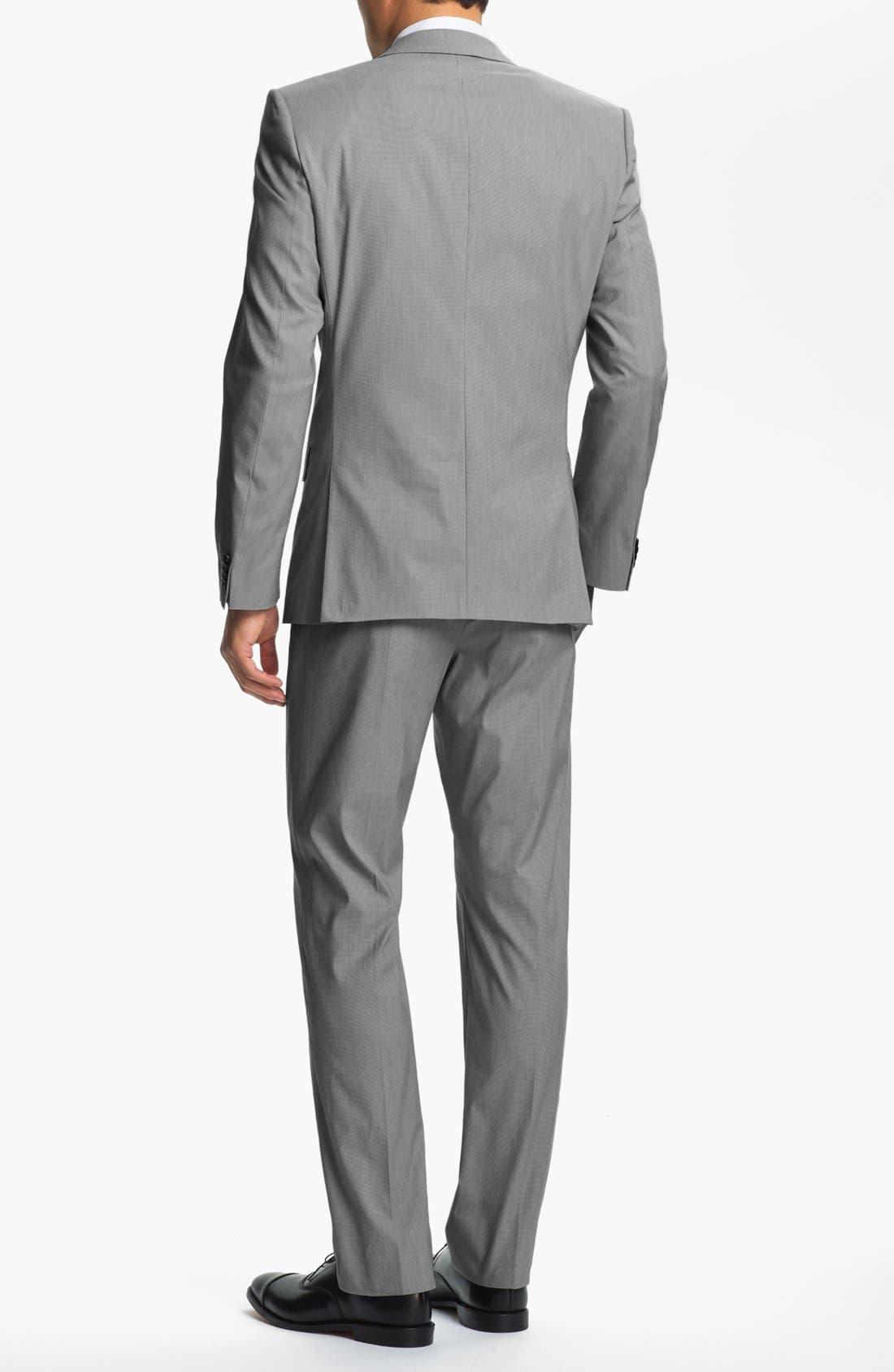 Alternate Image 3  - HUGO 'Aiko/Heise' Trim Fit Suit