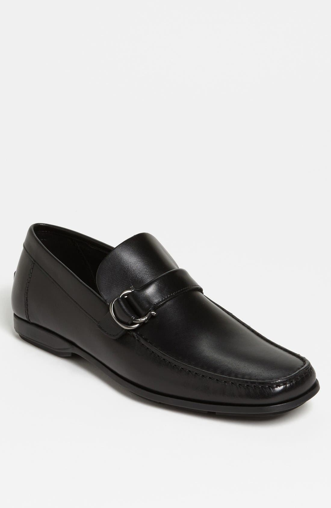 Alternate Image 1 Selected - Salvatore Ferragamo 'Tremiti' Bit Loafer