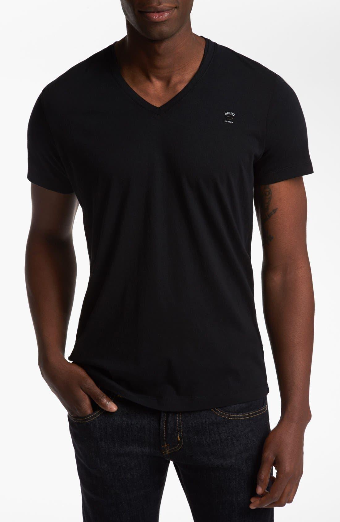 Alternate Image 1 Selected - DIESEL® 'T-Brisk-RS' V-Neck T-Shirt