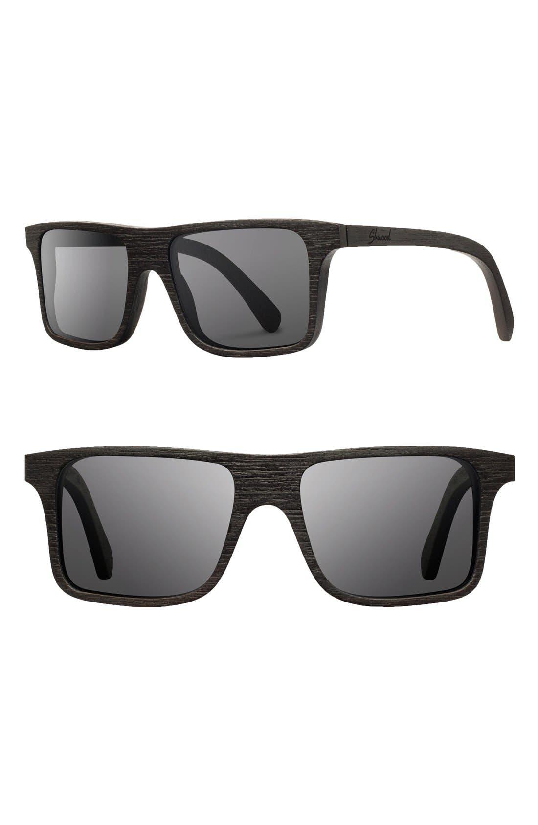 Alternate Image 1 Selected - Shwood 'Govy' 53mm Polarized Sunglasses
