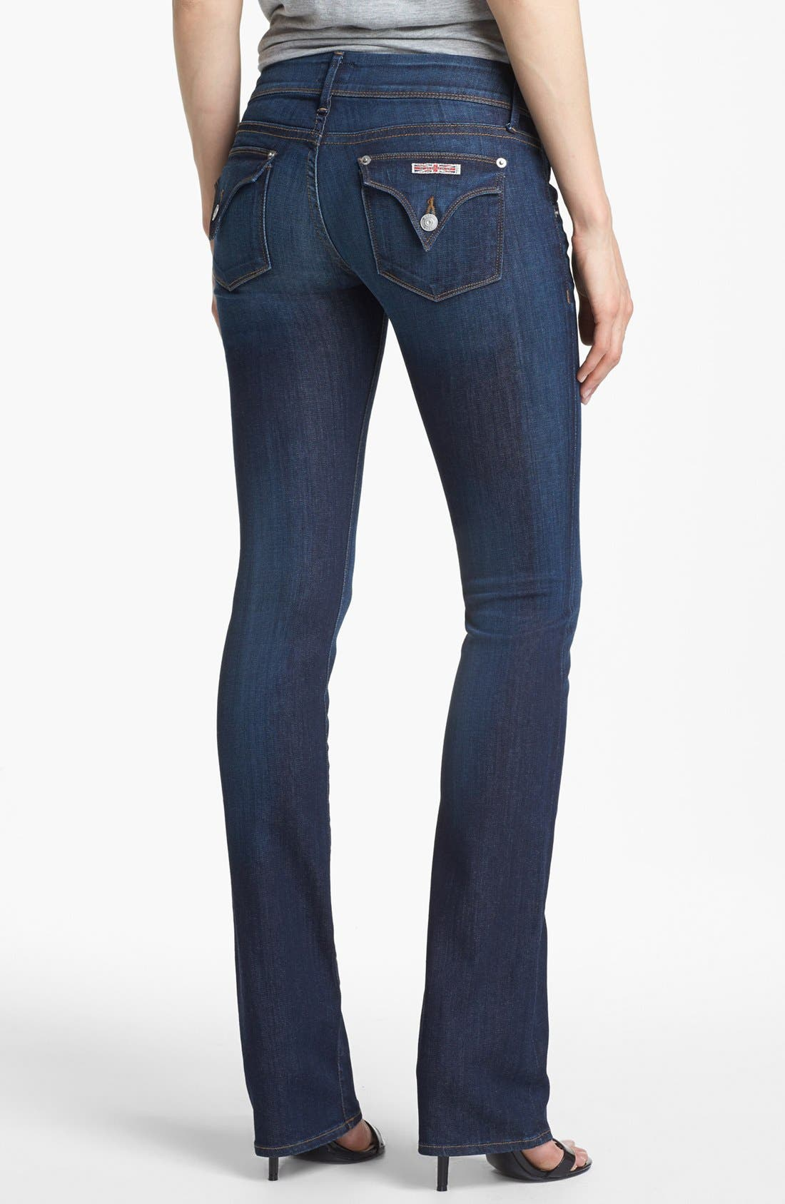 Alternate Image 2  - Hudson Jeans 'Beth Supermodel' Baby Bootcut Jeans (Iconic)