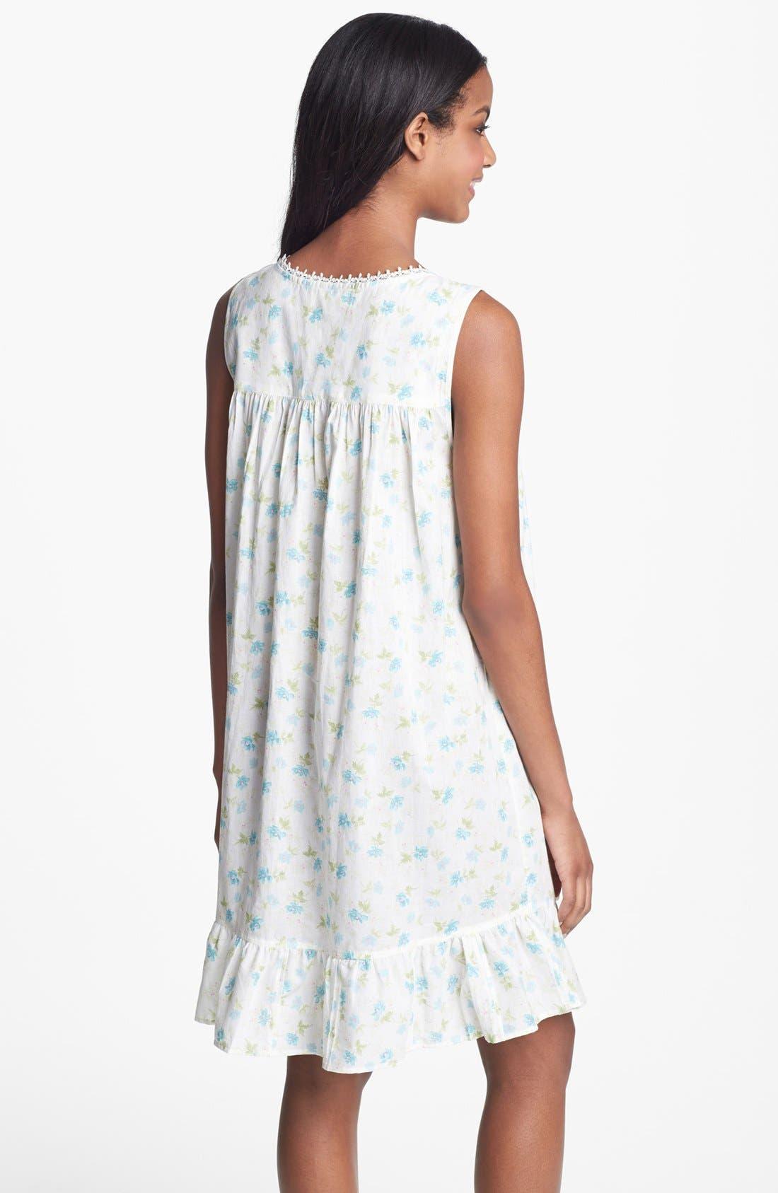 Alternate Image 2  - Eileen West 'Victorian Romance' Short Nightgown (Online Only)