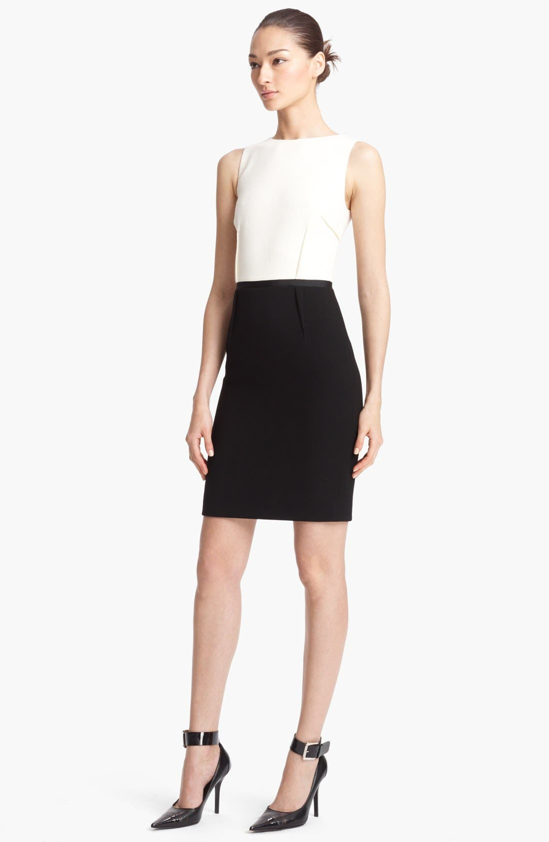 Alternate Image 1 Selected - Michael Kors Bouclé Shift Dress