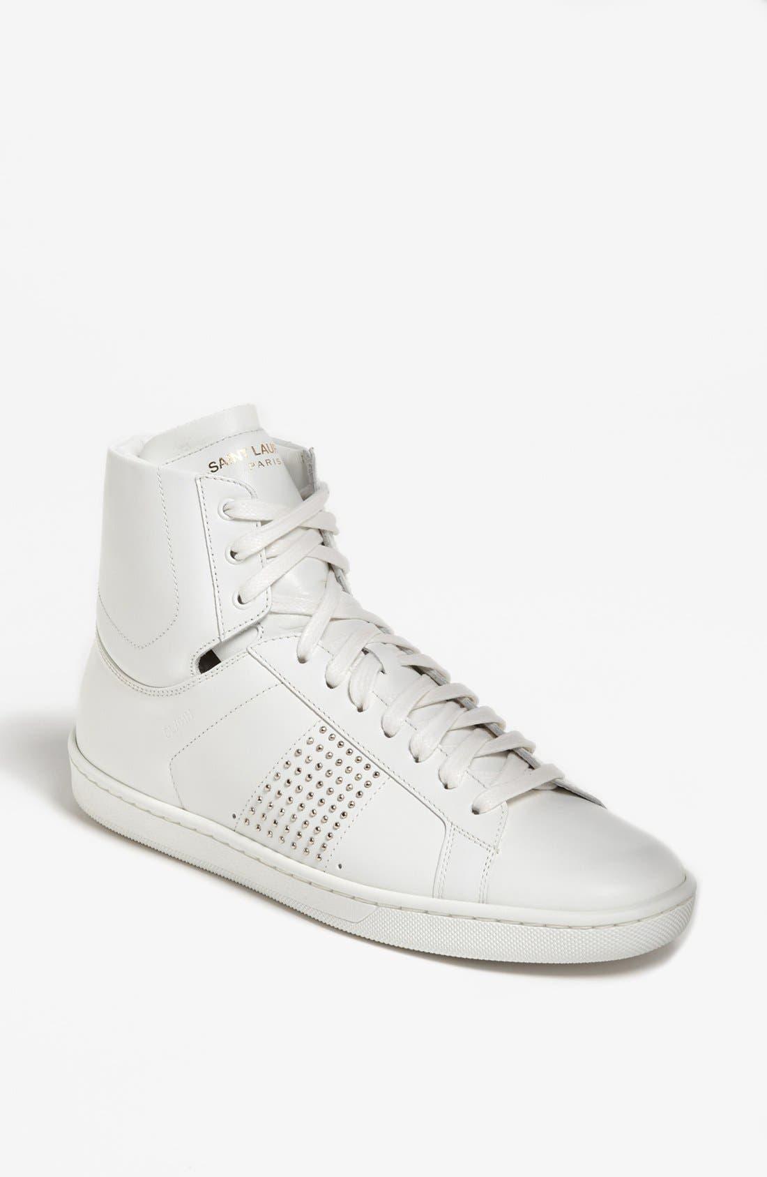 Alternate Image 1 Selected - Saint Laurent High Top Sneaker