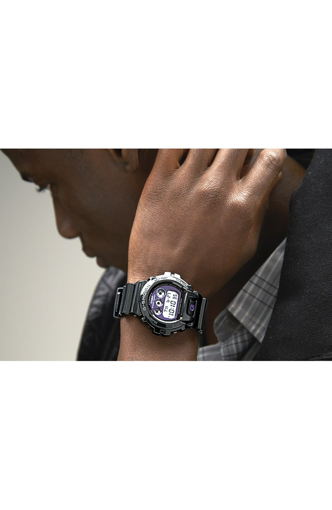 Alternate Image 4  - G-Shock Metallic Dial Watch, 53mm x 50mm
