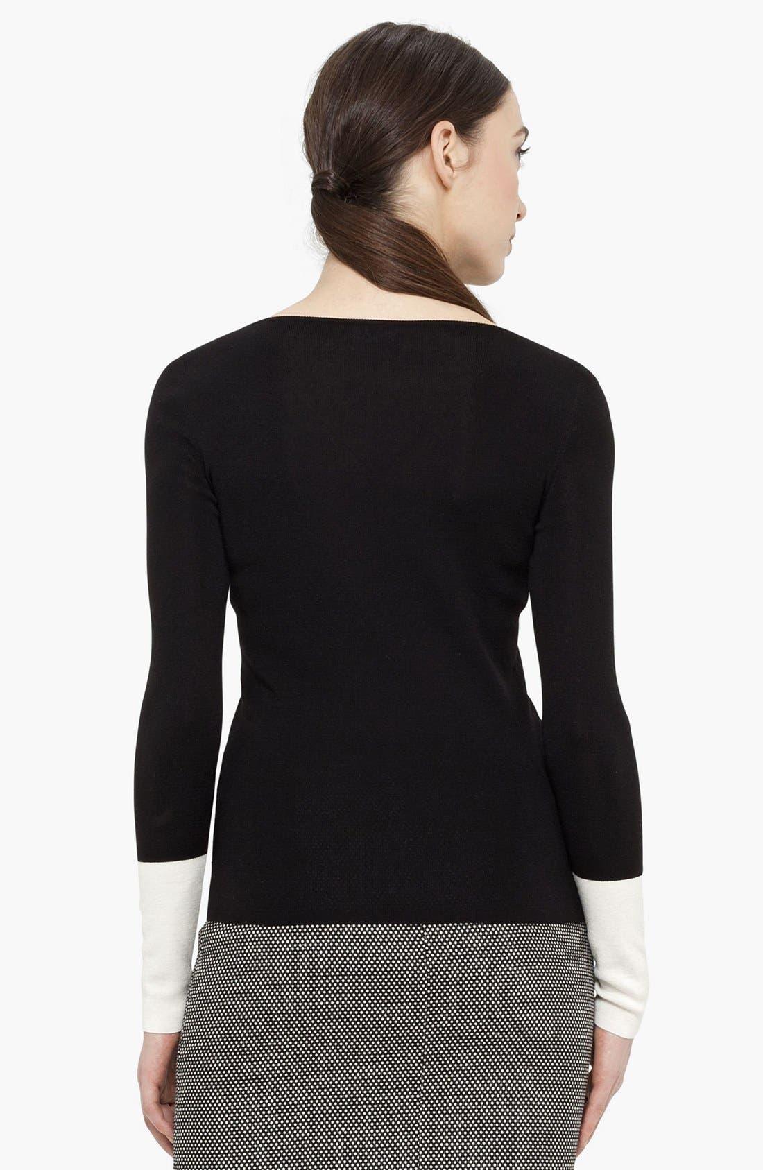 Alternate Image 3  - Akris punto Wool Sweater