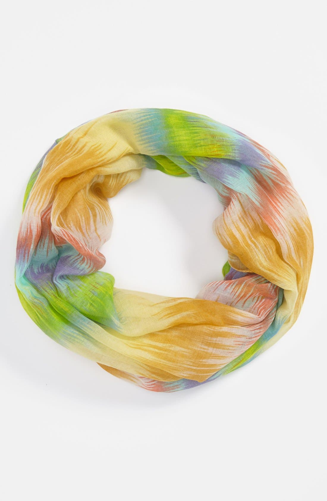 Alternate Image 2  - David & Young Blurred Ikat Infinity Scarf