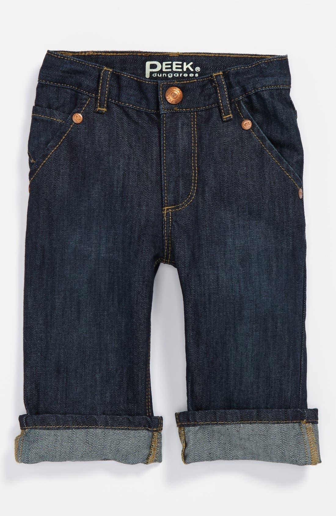 Alternate Image 2  - Peek 'Peanut' Jeans (Baby Boys)