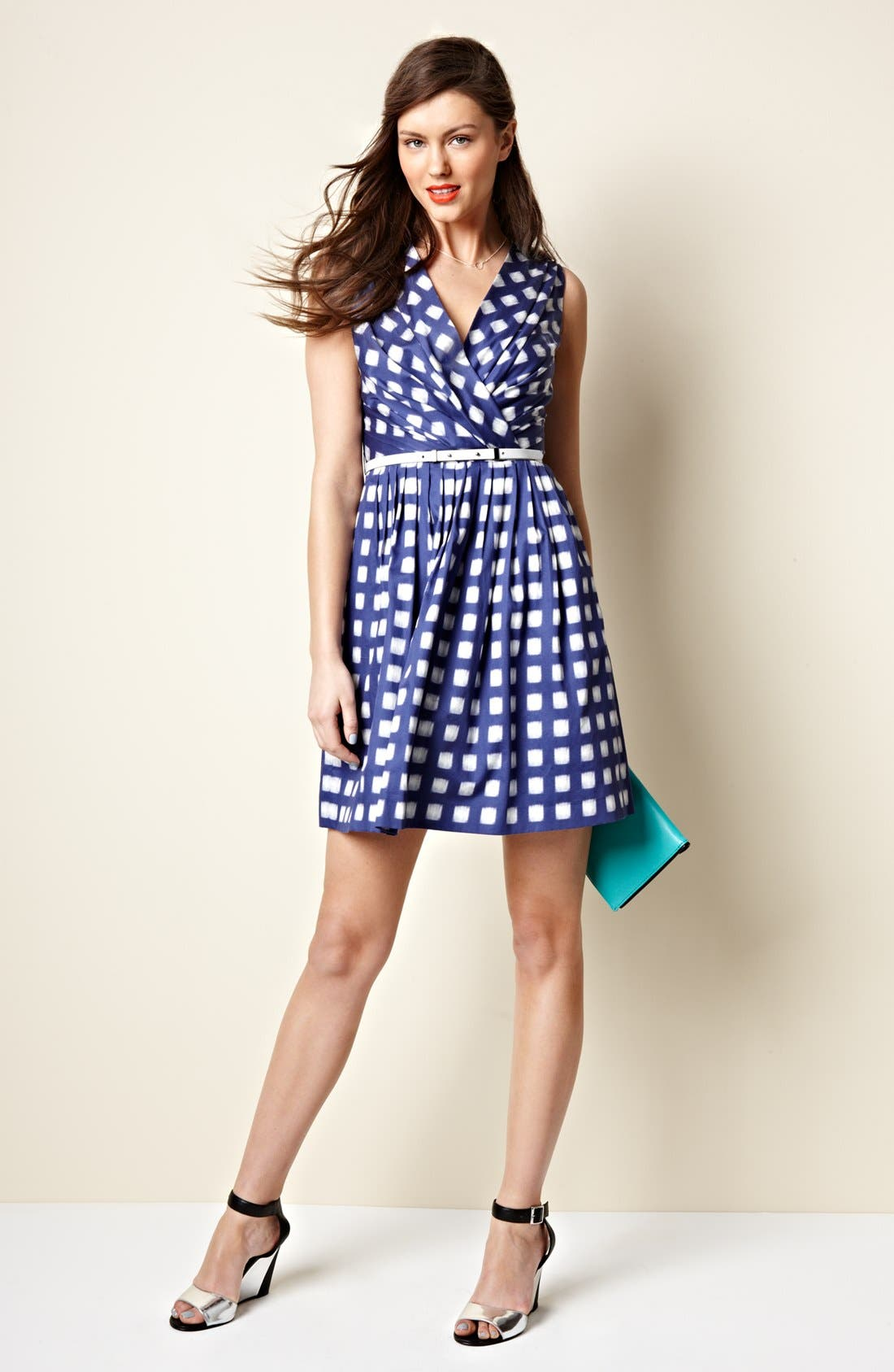 Alternate Image 4  - Ivy & Blu Print Cotton Dress (Regular & Petite)