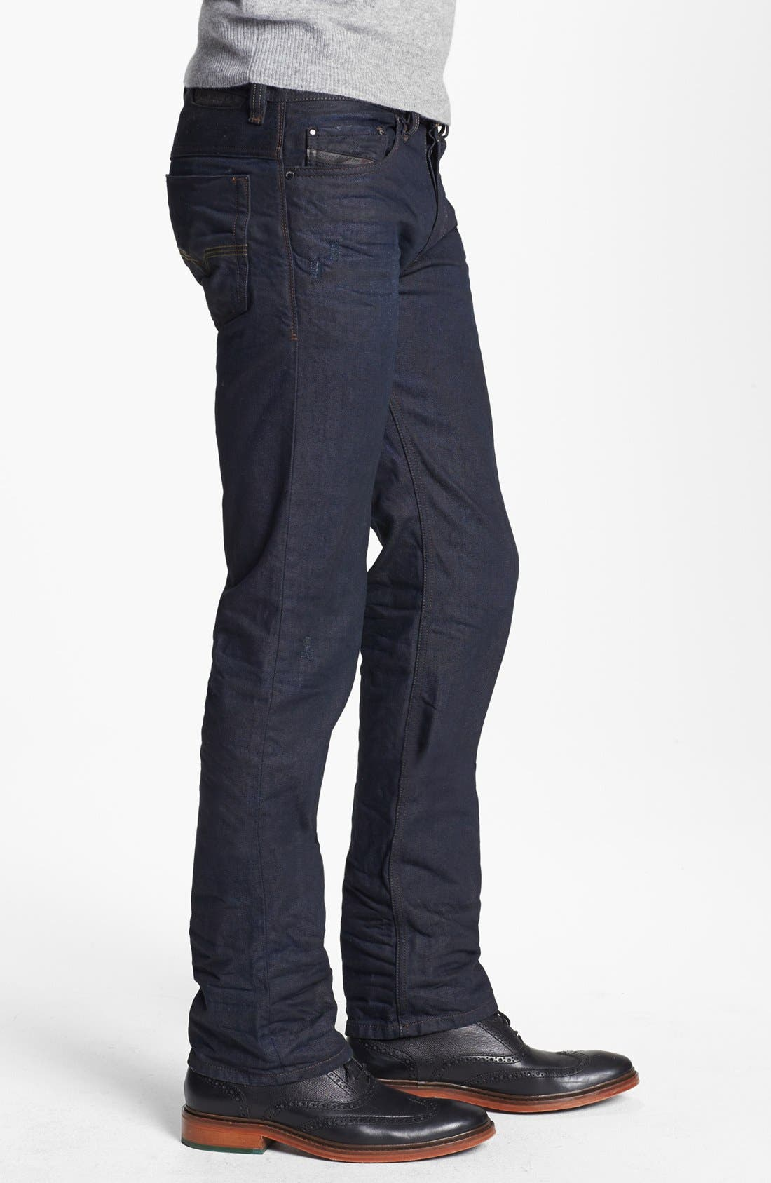Alternate Image 3  - DIESEL® 'Safado' Slim Fit Jeans (0806X)