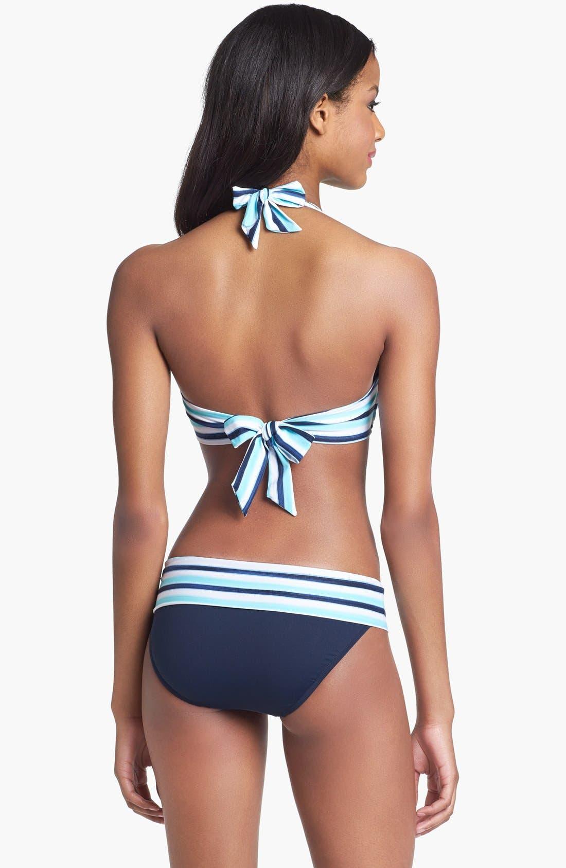Alternate Image 2  - Seafolly 'East Coast' Halter Bikini Top (DD Cup)
