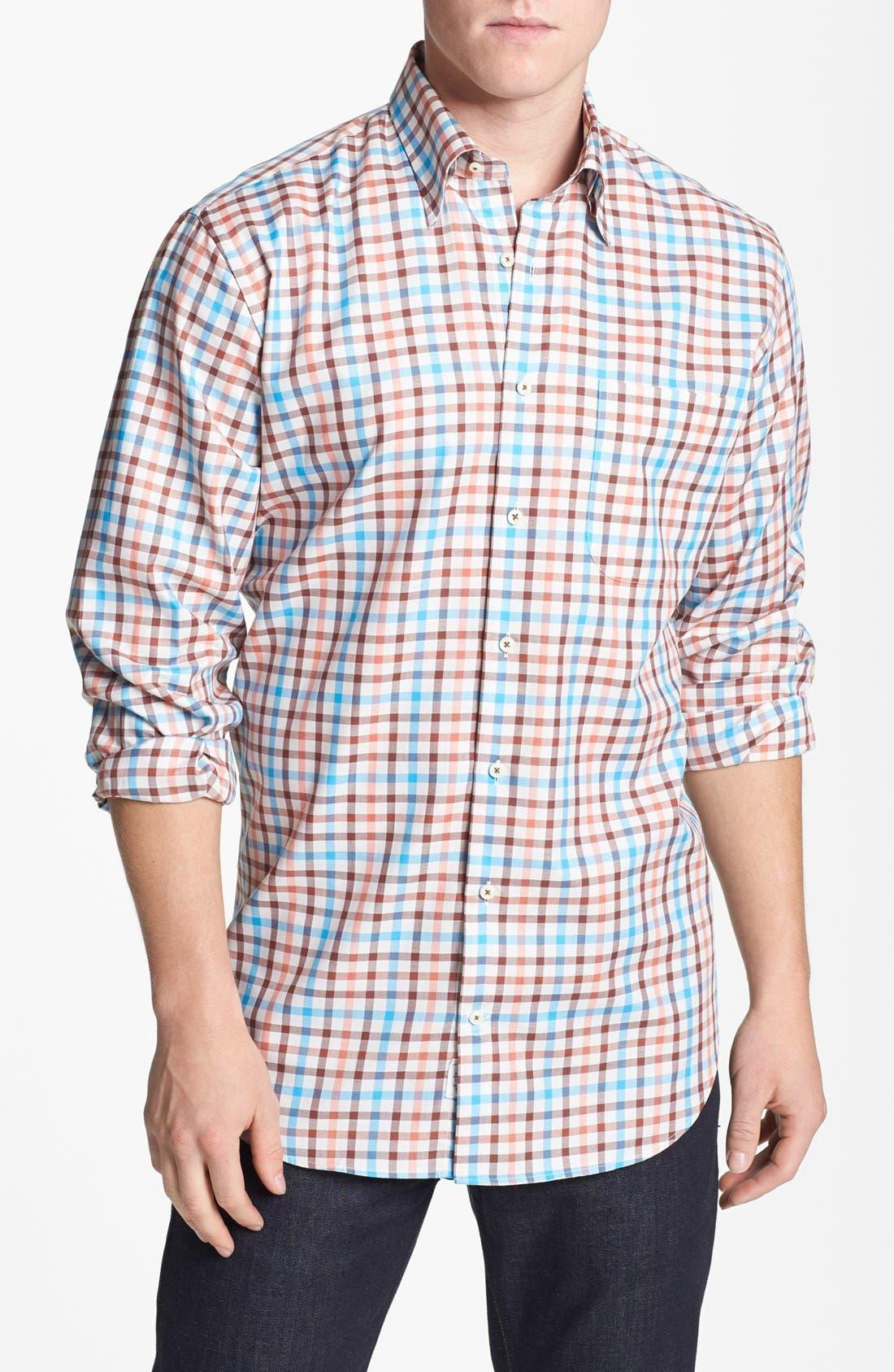 Alternate Image 1 Selected - Peter Millar 'Provence' Regular Fit Sport Shirt