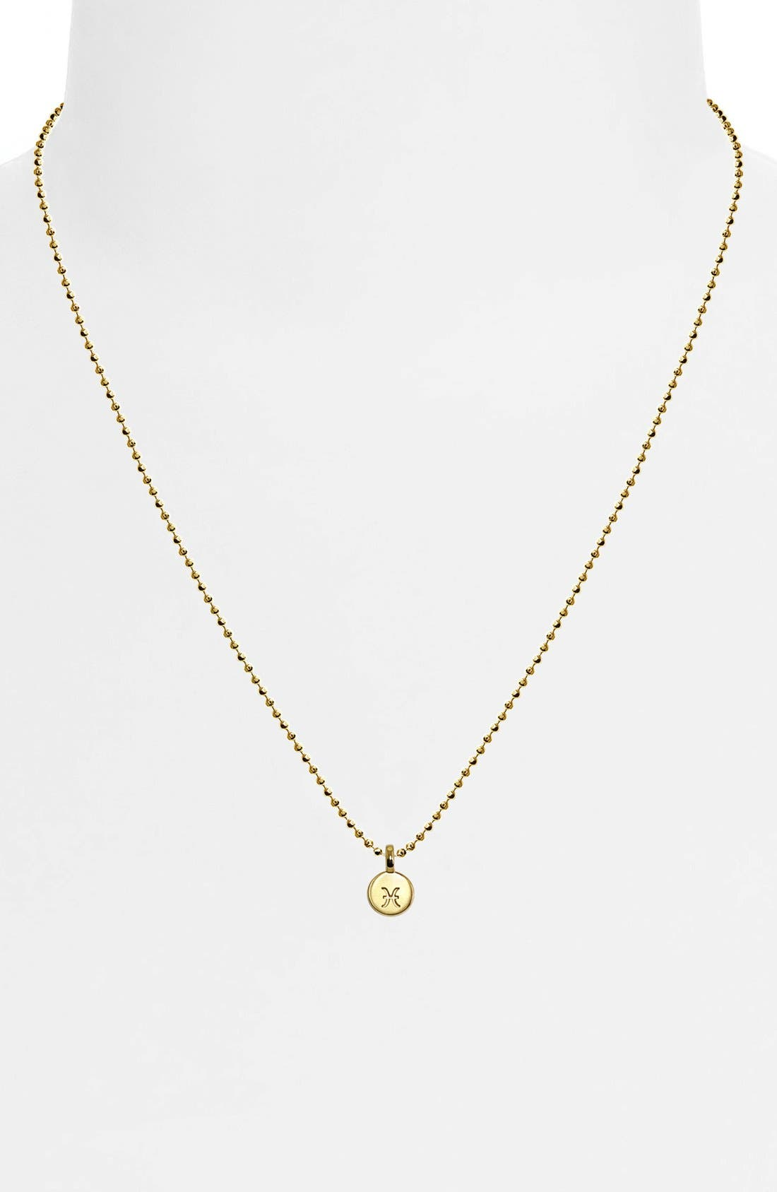 Alternate Image 2  - Alex Woo 'Mini Addition Signs' Zodiac Pendant Necklace
