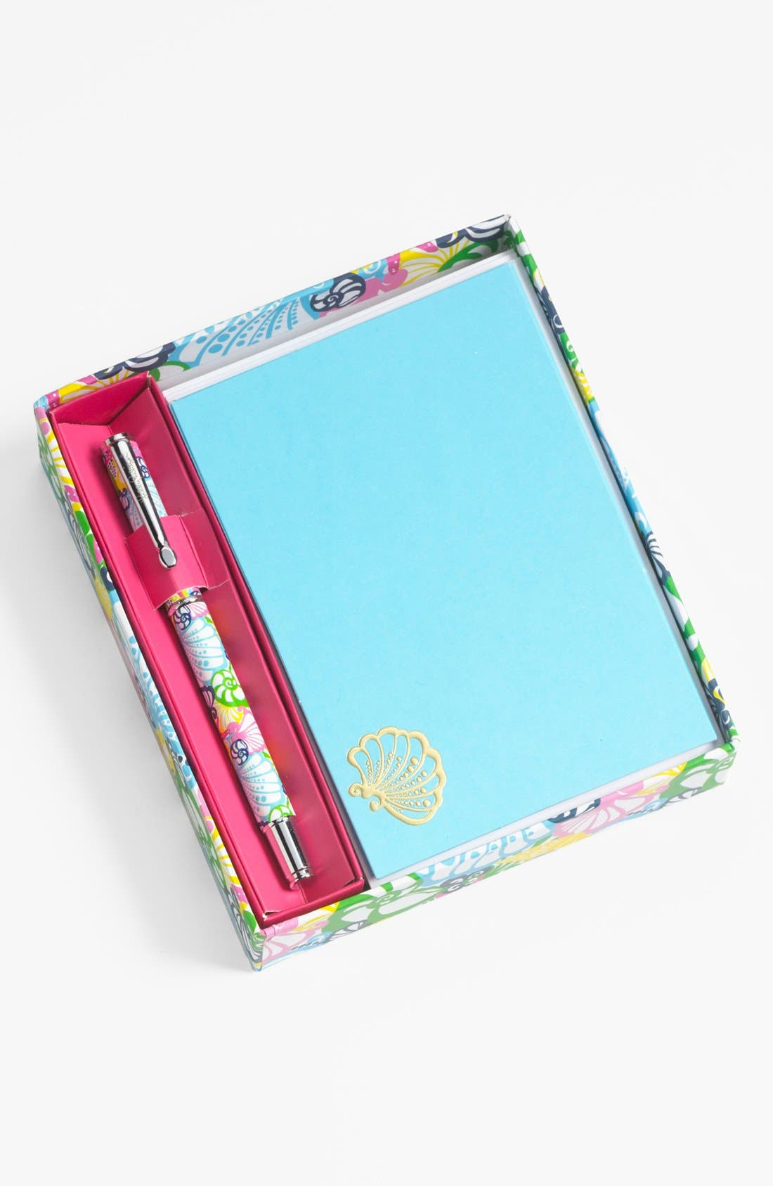 Alternate Image 1 Selected - Lilly Pulitzer® 'Chiquita Bonita' Note Cards & Pen