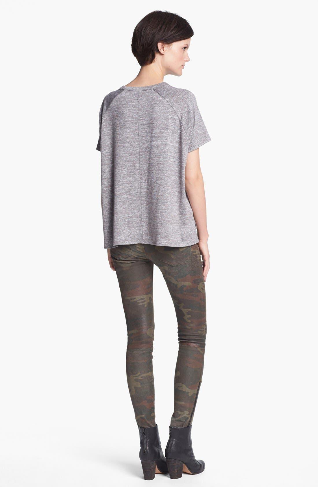 Alternate Image 2  - rag & bone/JEAN 'Camden' Short Sleeve Tee