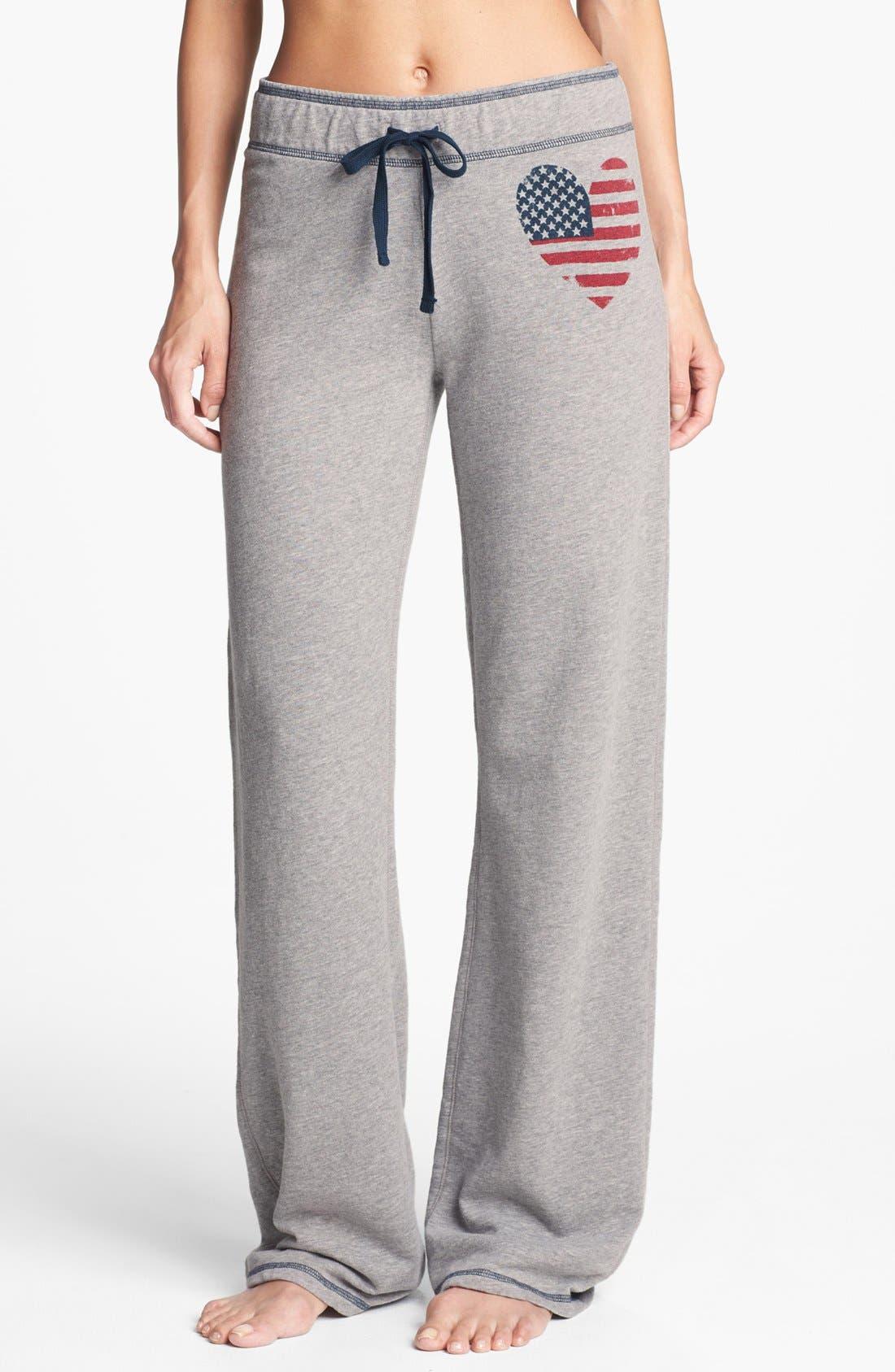 Alternate Image 1 Selected - PJ Salvage 'Stars & Stripes' Pants