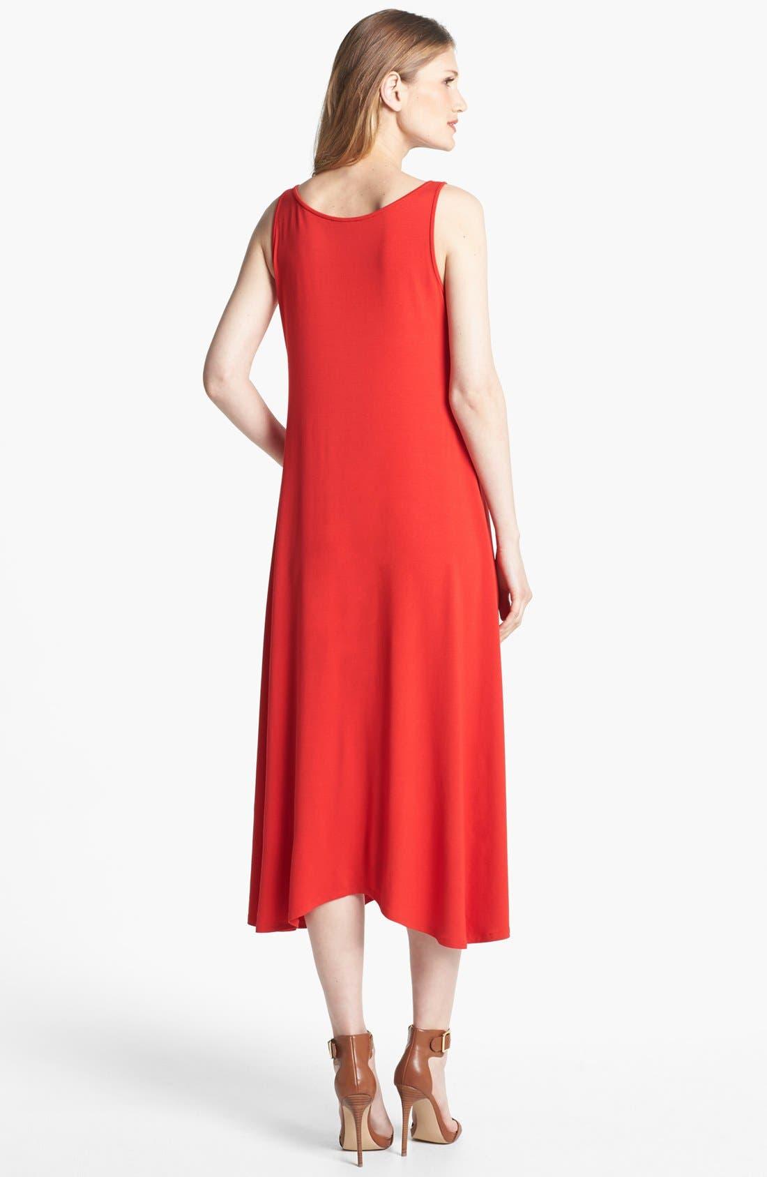 Alternate Image 2  - Eileen Fisher Jersey Maxi Dress
