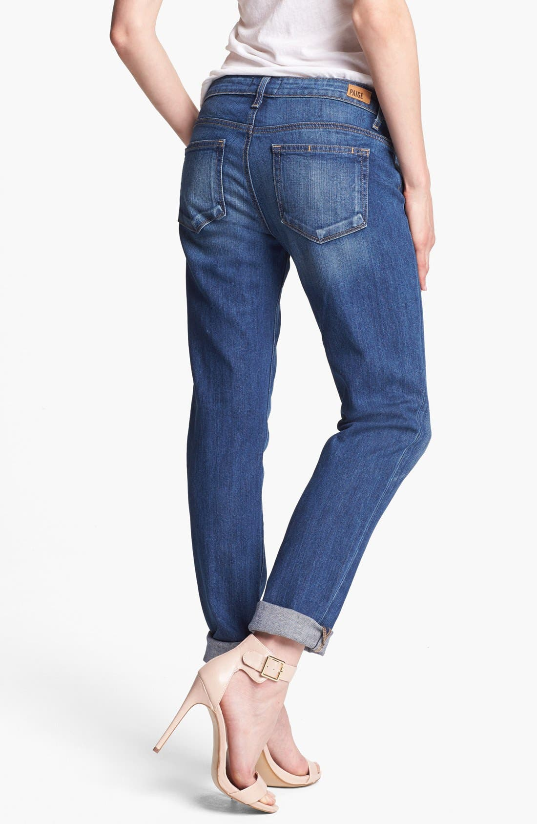 Alternate Image 2  - Paige Denim 'Jacob' Boyfriend Jeans (Woodlands)