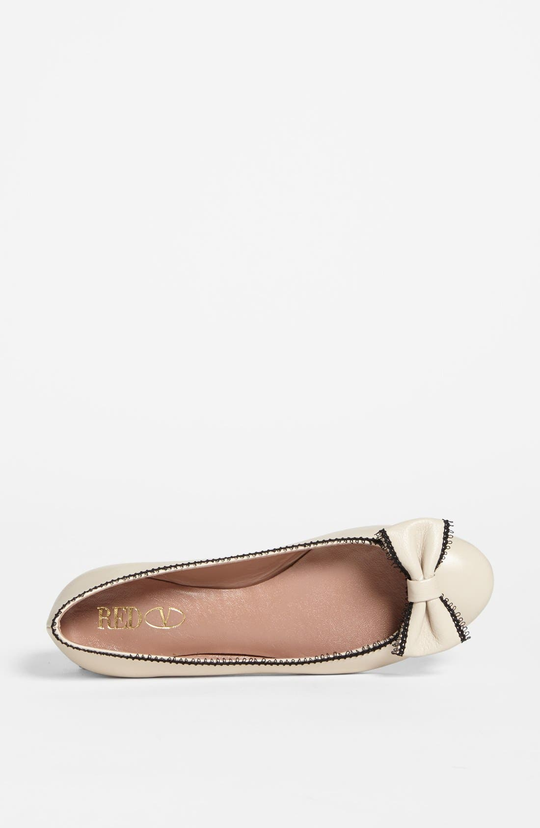 Alternate Image 3  - RED Valentino Ballerina Flat (Online Only)