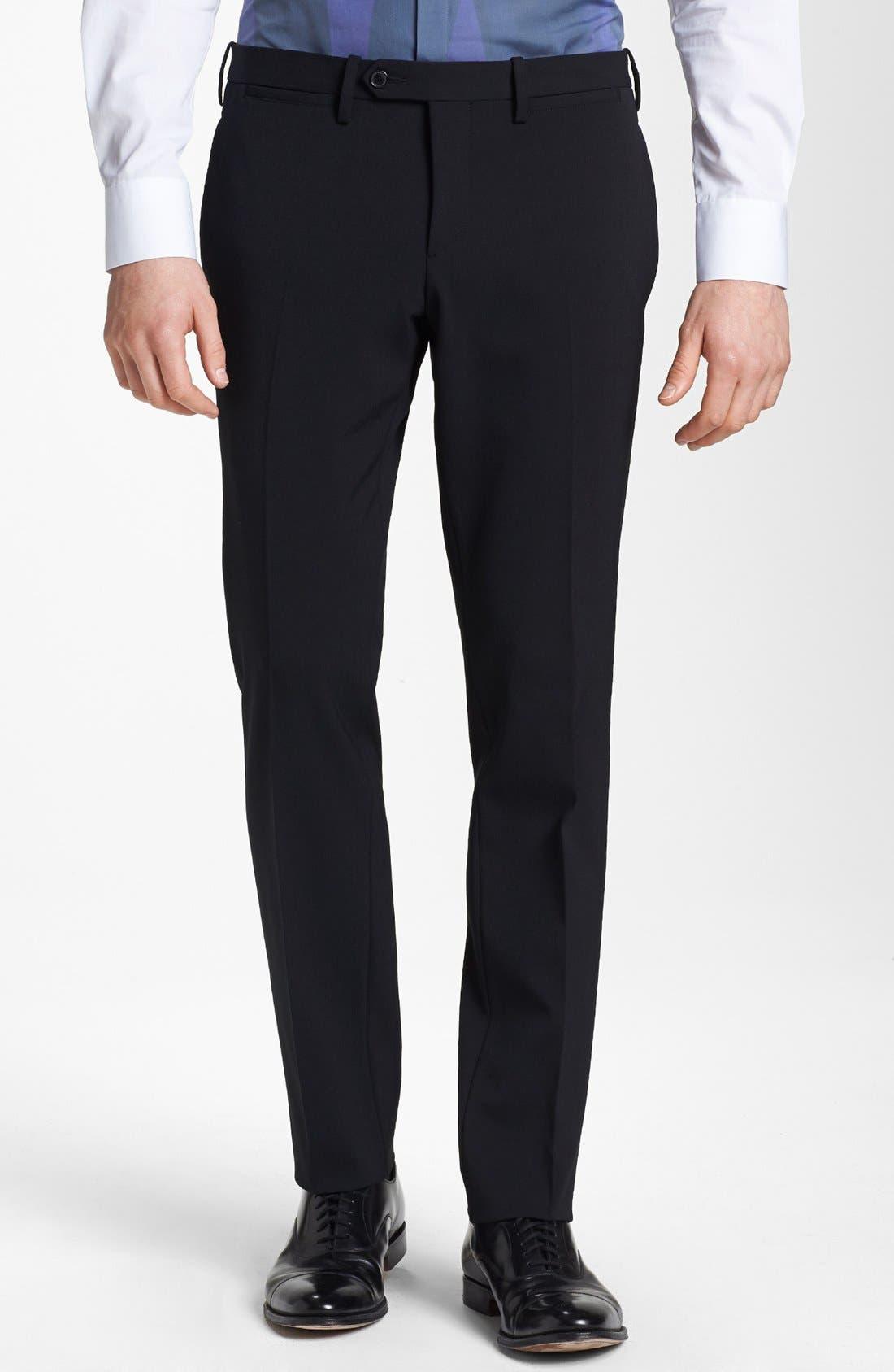 Alternate Image 5  - Neil Barrett Stretch Gabardine Suit