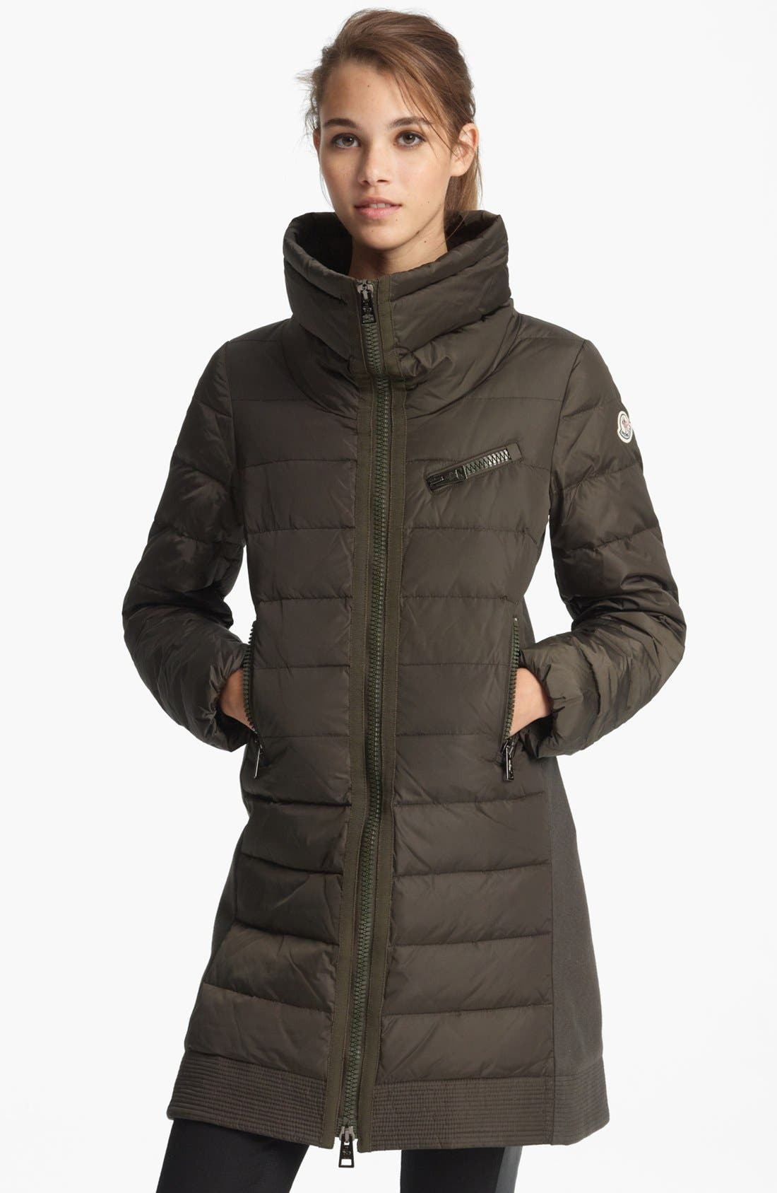 Alternate Image 4  - Moncler 'Herisse' Down Coat