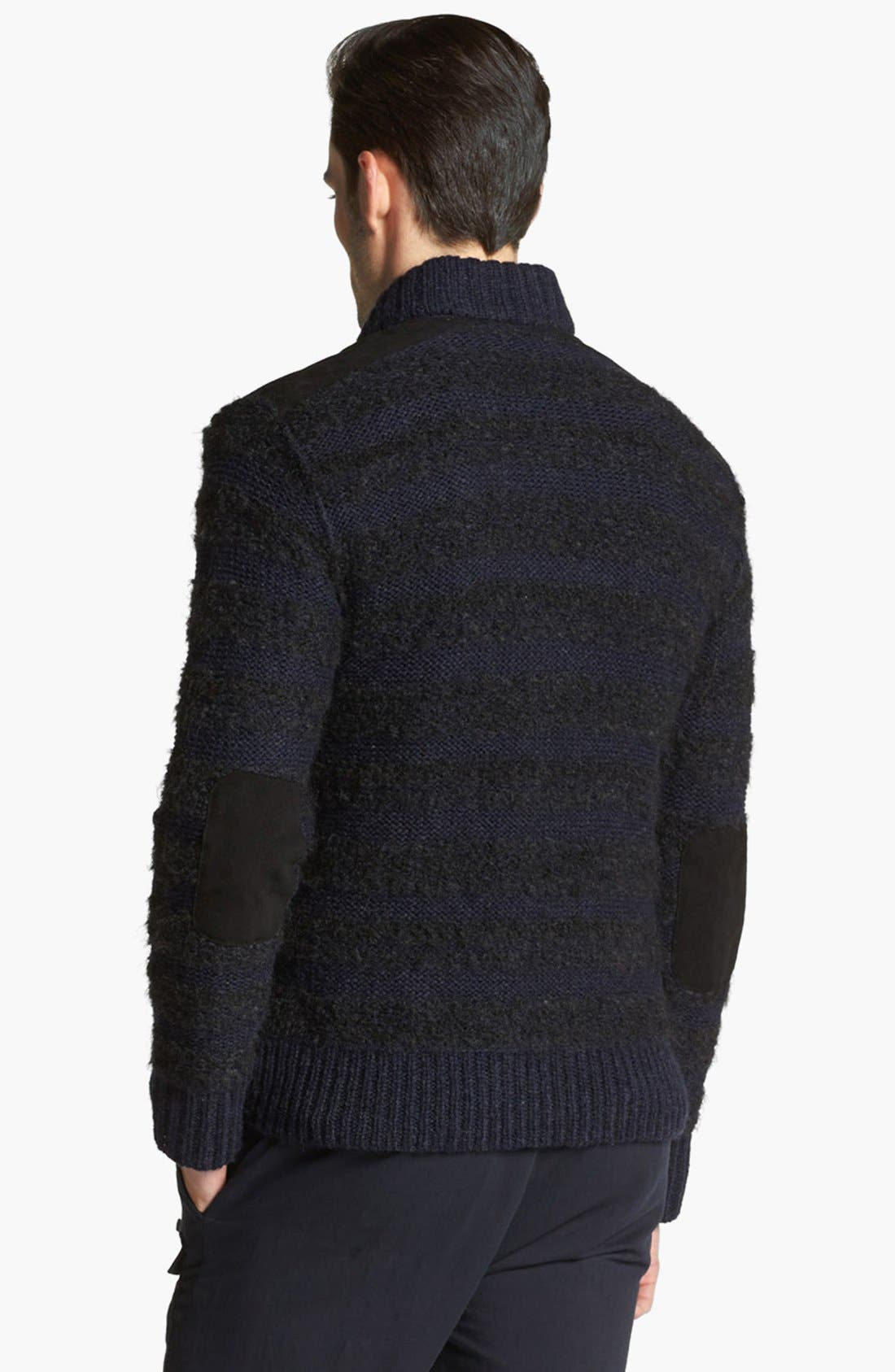 Alternate Image 2  - John Varvatos Collection Chunky Knit Sweater