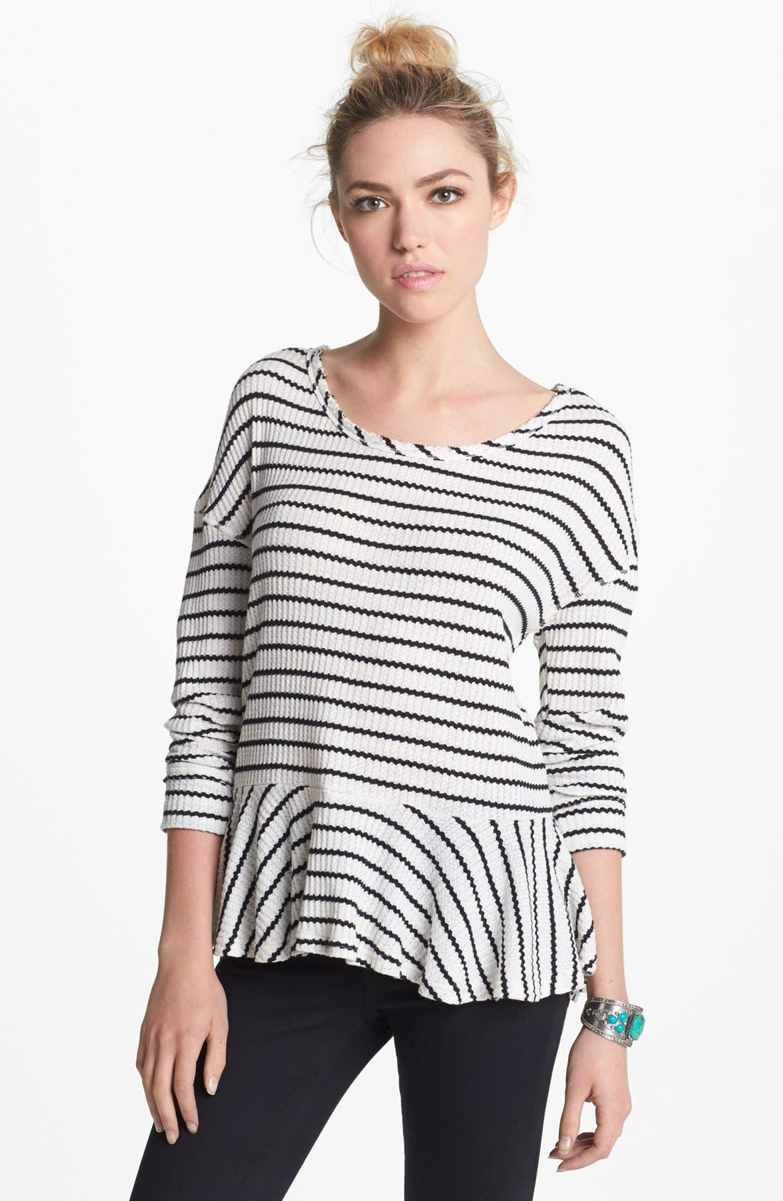 Main Image - Free People 'Auntie Em' Textured Top