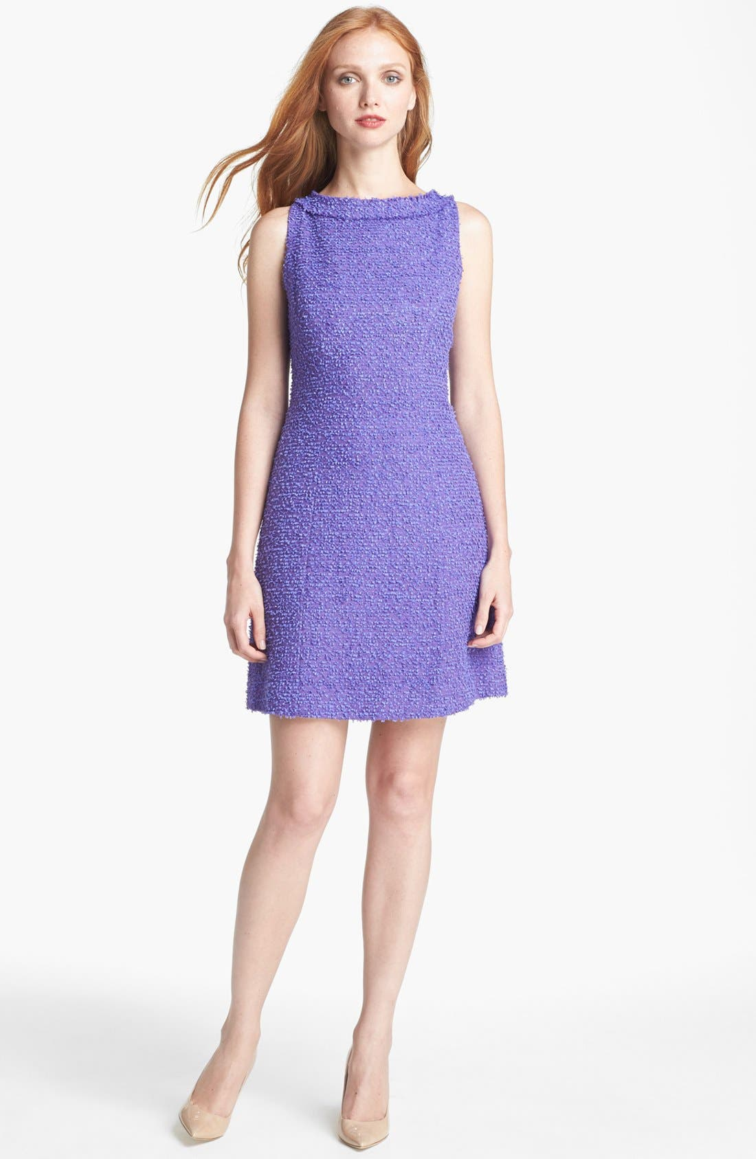 Alternate Image 1 Selected - kate spade new york 'naudia' cotton blend a-line dress
