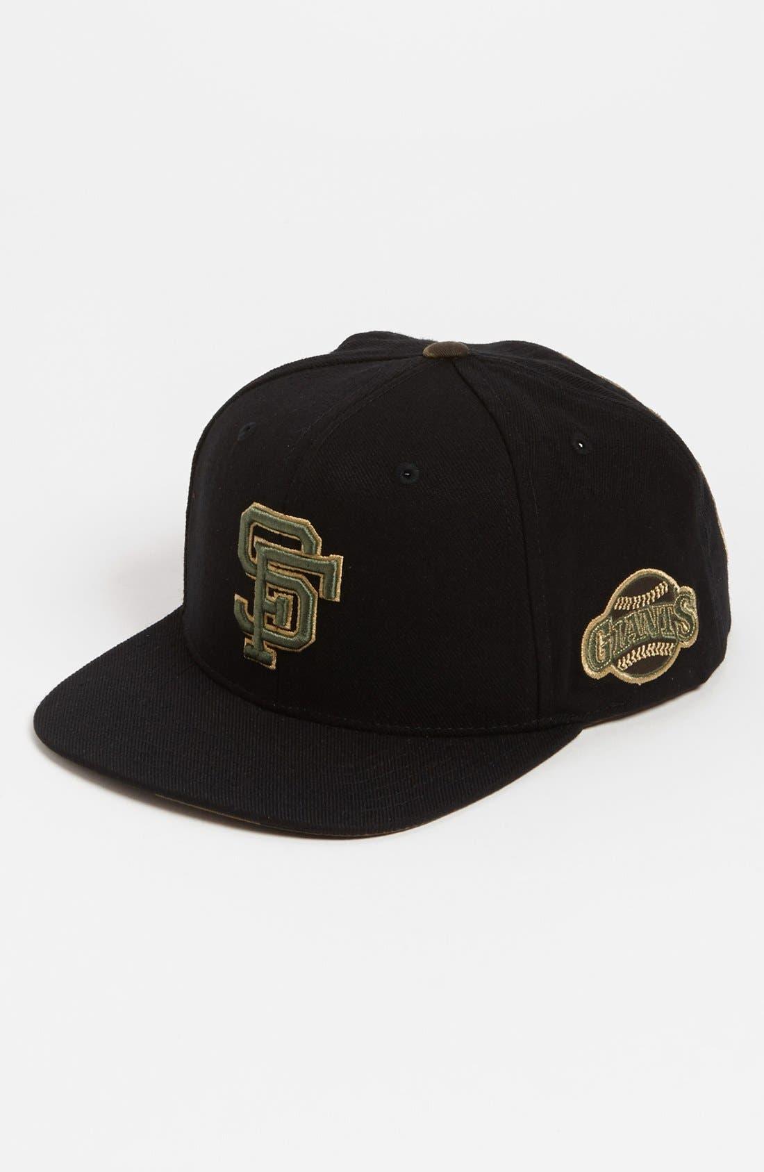 Main Image - American Needle 'San Francisco Giants - Blockhead Camo' Snapback Baseball Cap