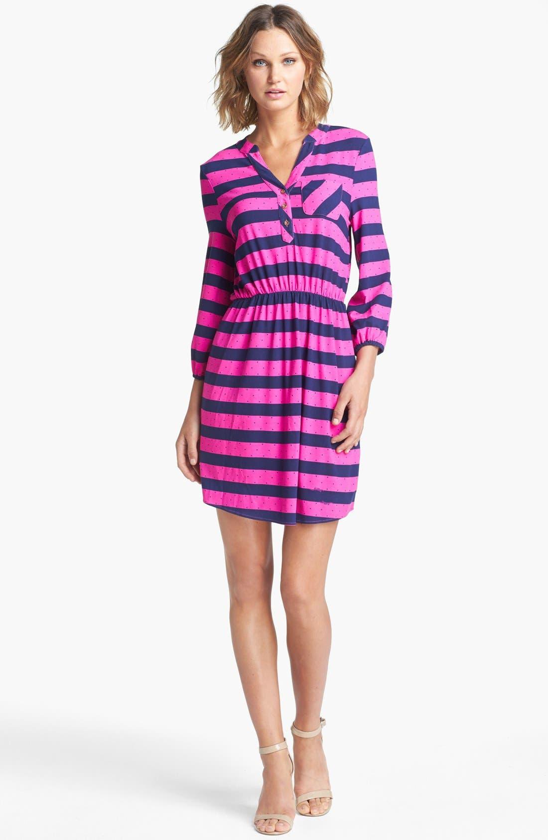 Alternate Image 1 Selected - Lilly Pulitzer® 'Beckett' Stripe Shirtdress