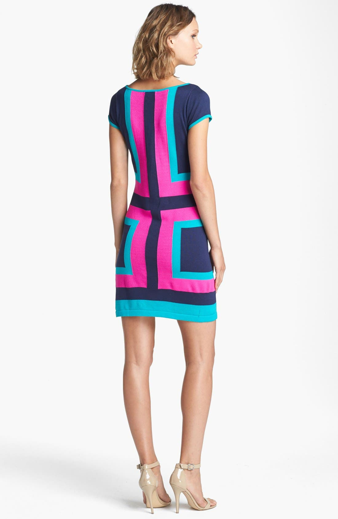 Alternate Image 2  - Lilly Pulitzer® 'Isabella' Colorblock Sweater Dress