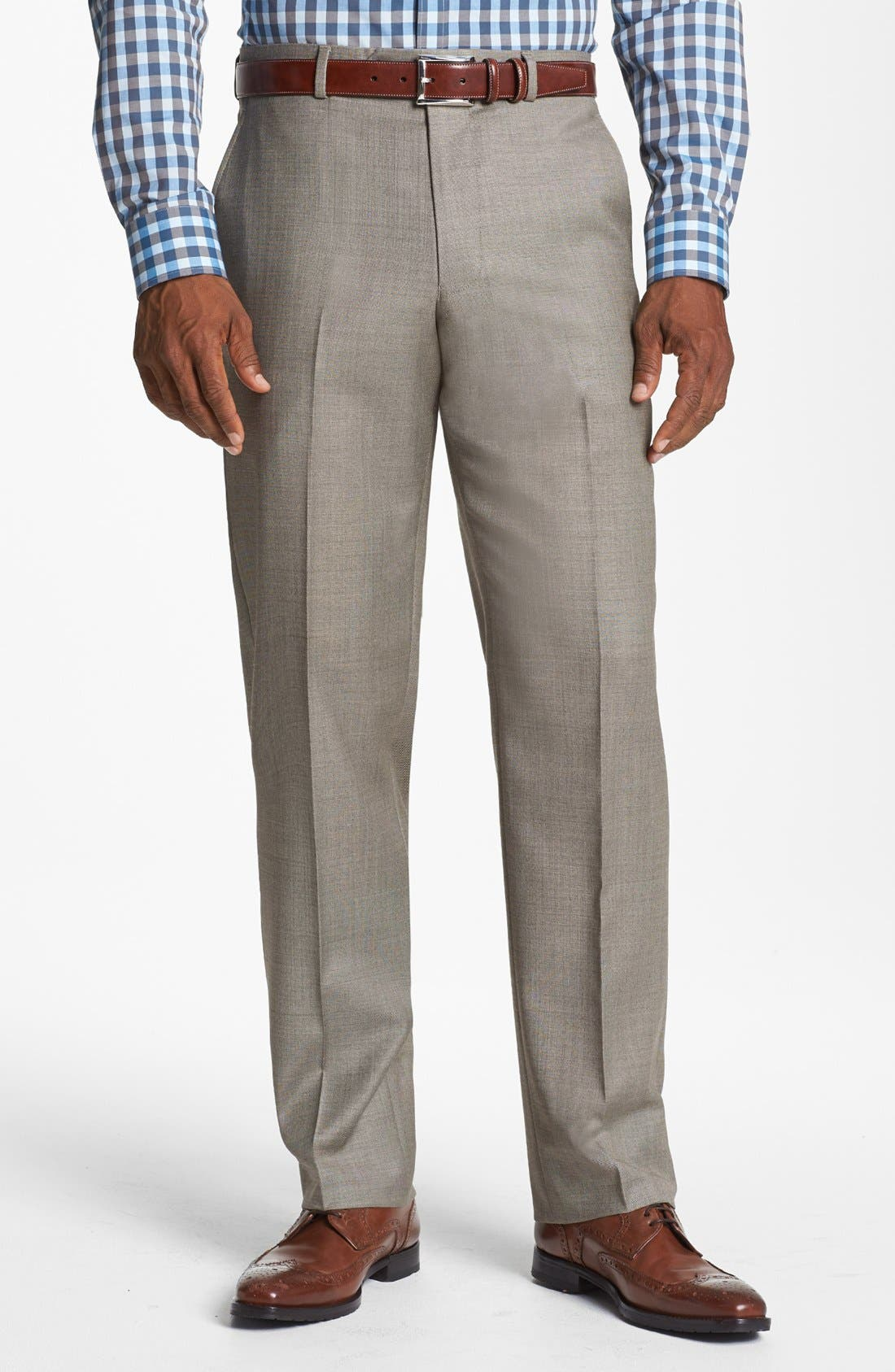 Alternate Image 5  - John W. Nordstrom® Classic Fit Wool Suit