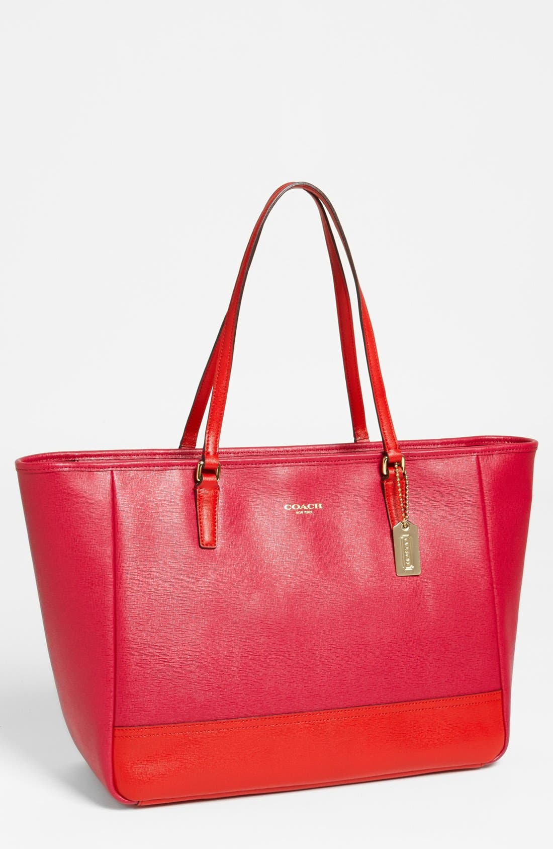 Main Image - COACH 'Colorblock - Medium' Leather Tote