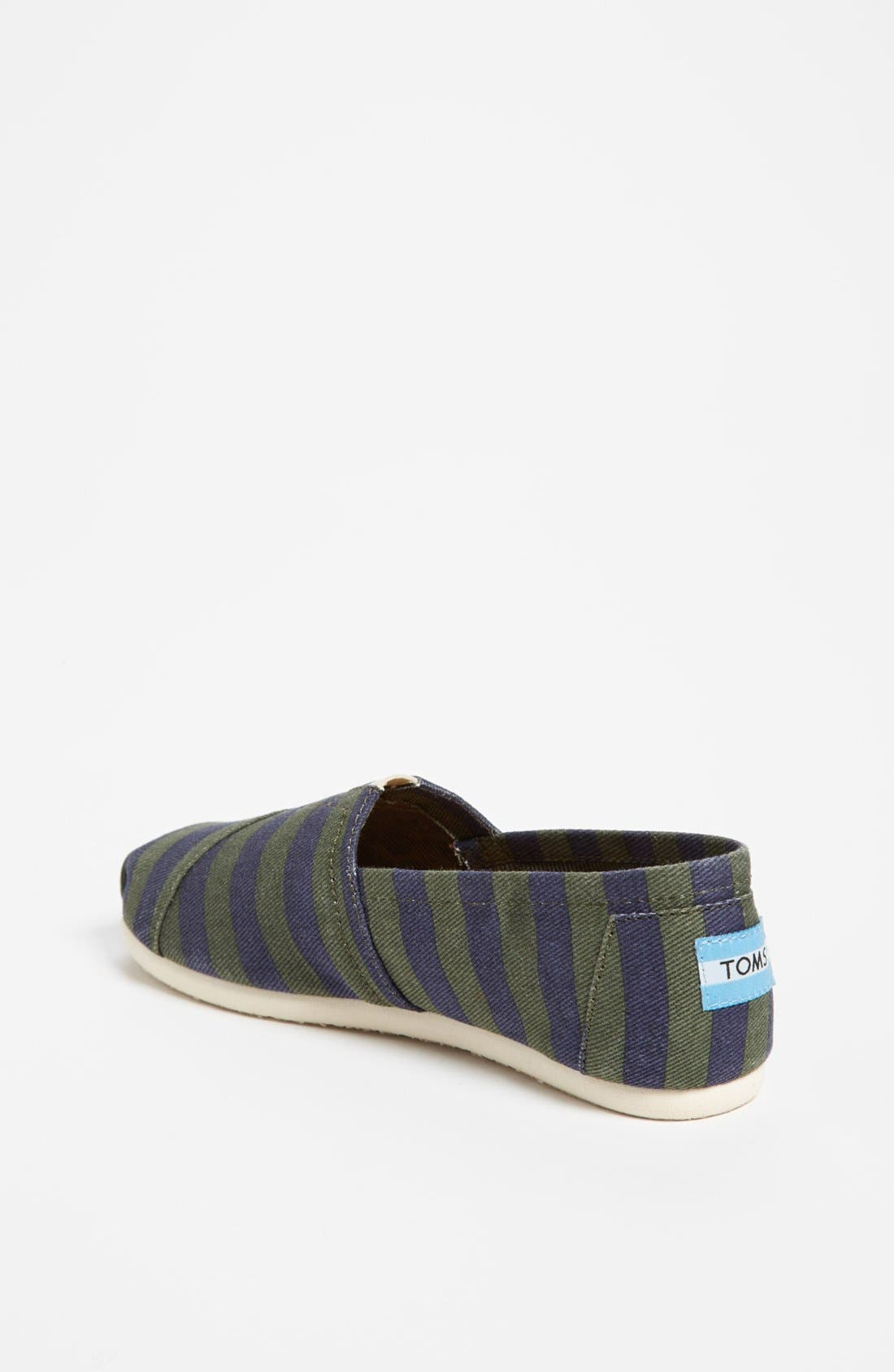 Alternate Image 2  - TOMS 'Classic - Stripe' Slip-On (Toddler, Little Kid & Big Kid)(Limited Edition)