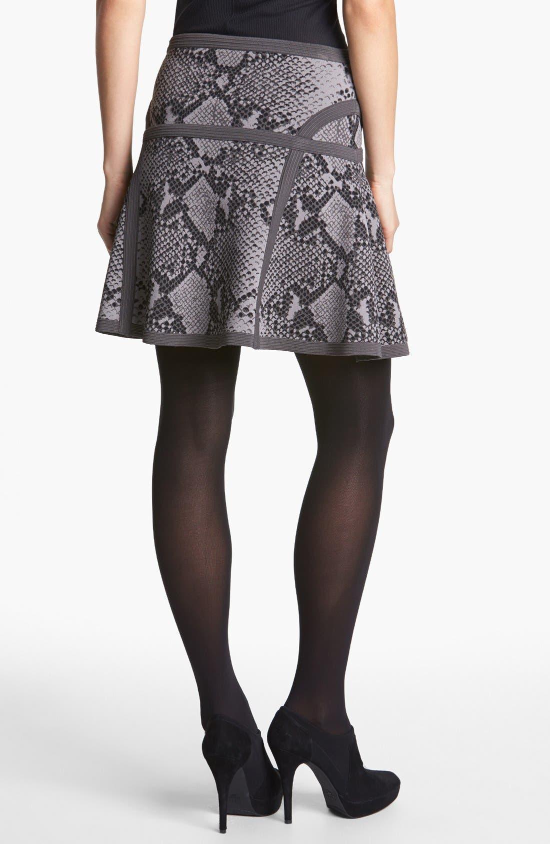 Alternate Image 2  - Diane von Furstenberg 'Flote' Print A-Line Skirt