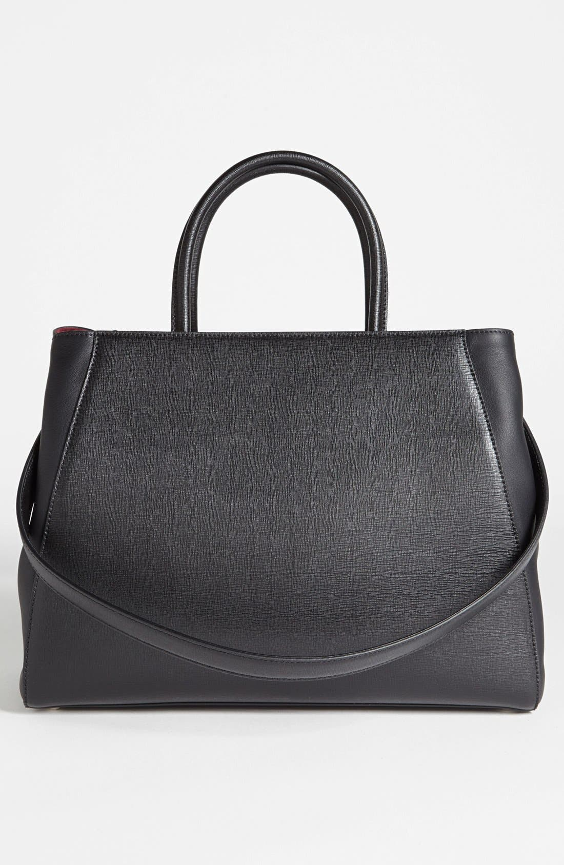 Alternate Image 4  - Fendi '2Jours- Medium' Leather Shopper