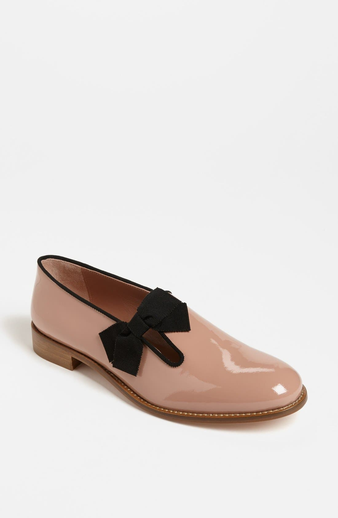 Alternate Image 1 Selected - RED Valentino Patent Leather Tuxedo Loafer