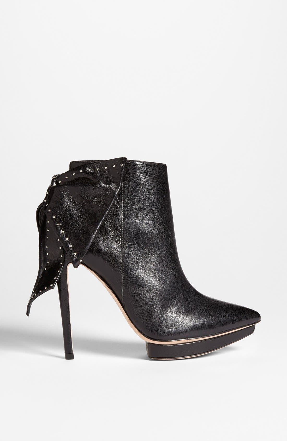 Alternate Image 4  - Alice + Olivia 'Darleen' Leather Bootie