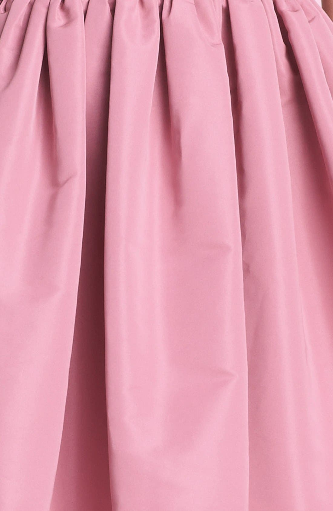 Alternate Image 3  - RED Valentino Full Skirt Faille Dress