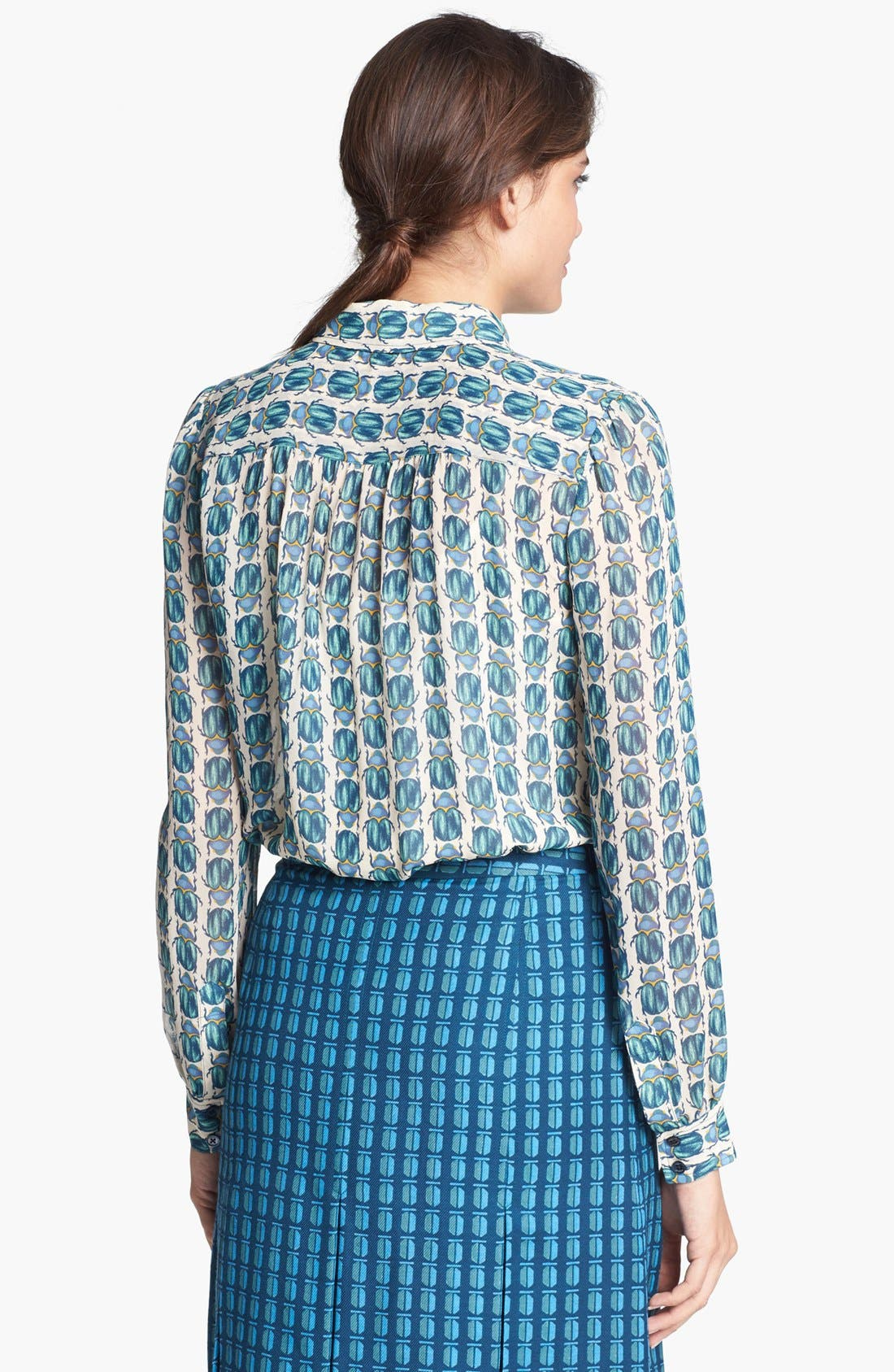 Alternate Image 2  - Tory Burch 'Kerry' Silk Blouse
