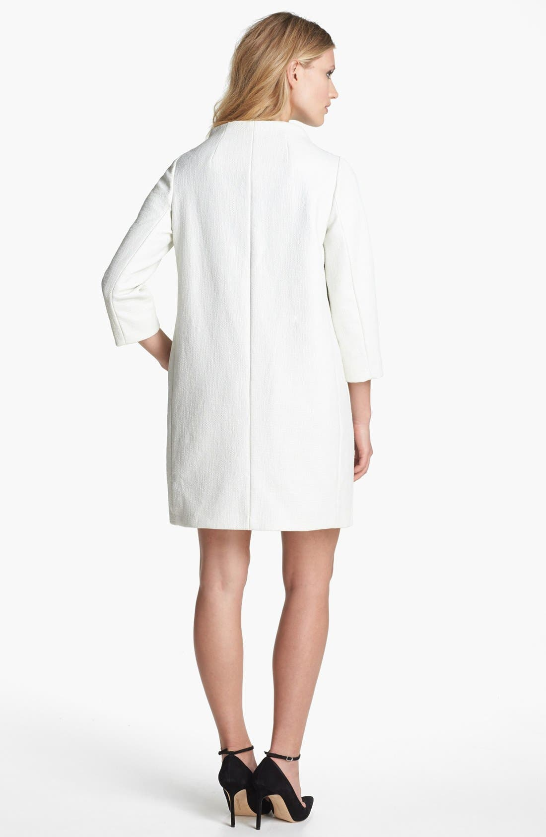 Alternate Image 5  - kate spade new york 'erika' woven coat