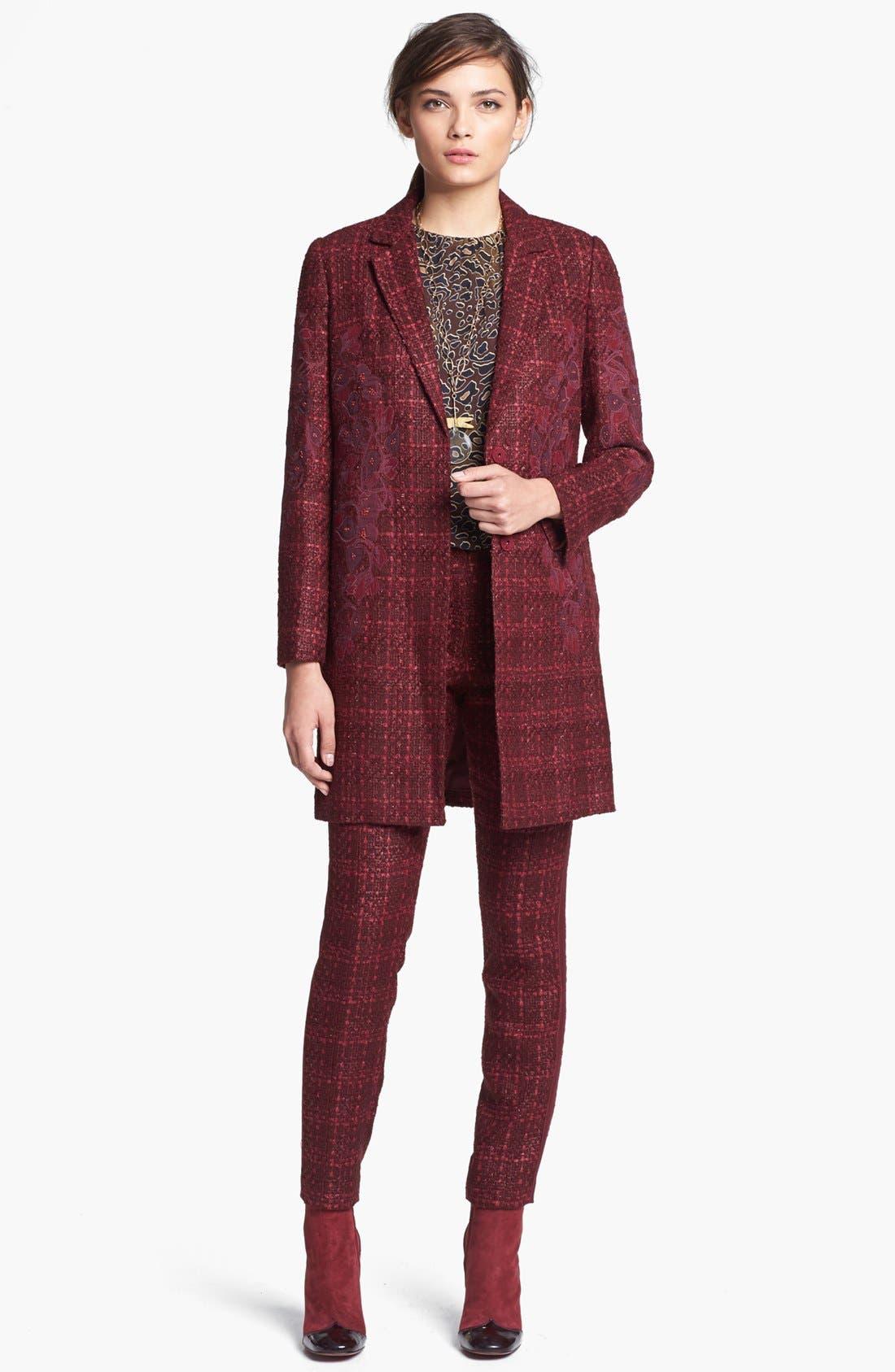Alternate Image 4  - Tory Burch 'Patsy' Tweed Coat