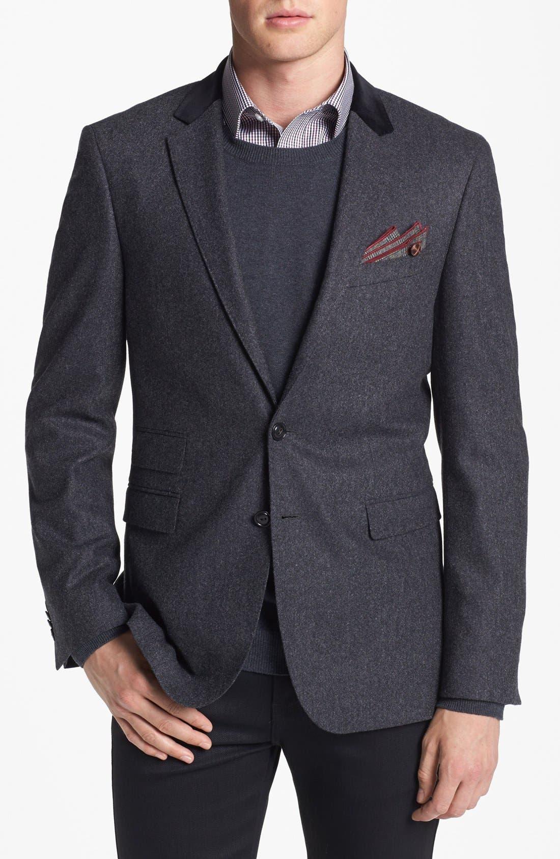 Alternate Image 1 Selected - BOSS HUGO BOSS 'Rayford' Trim Fit Blazer