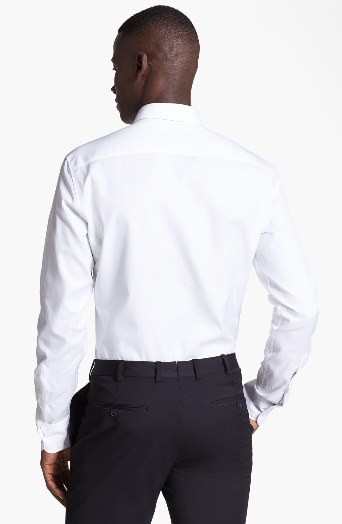 Alternate Image 2  - Z Zegna Slim Fit Oxford Shirt