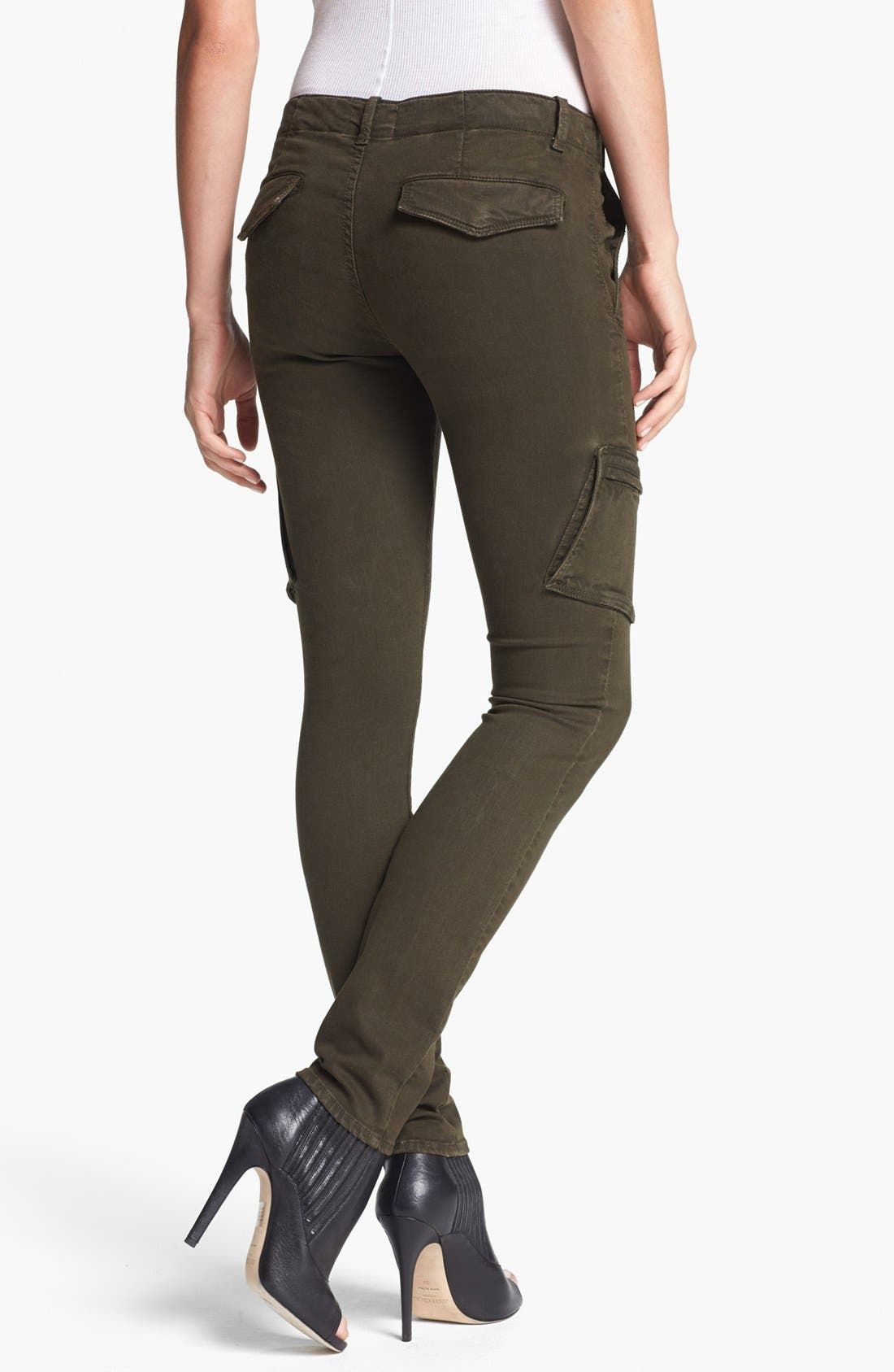 Alternate Image 2  - Vince Colored Slim Leg Cargo Stretch Jeans