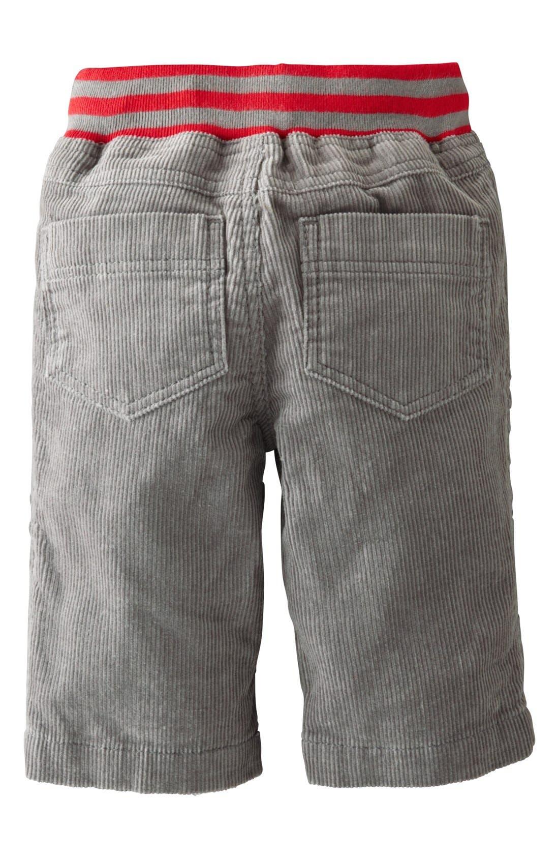 Alternate Image 2  - Mini Boden 'Star Patch' Pants (Baby Boys)